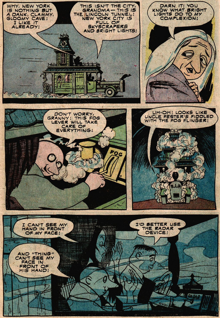 Read online Addams Family comic -  Issue #2 - 24