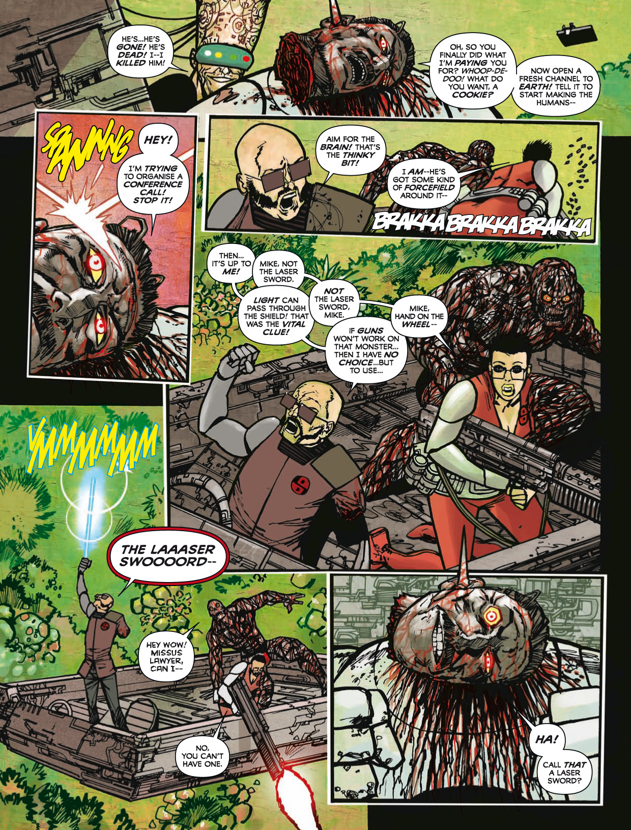 Read online 2000 AD comic -  Issue #1746 - 185