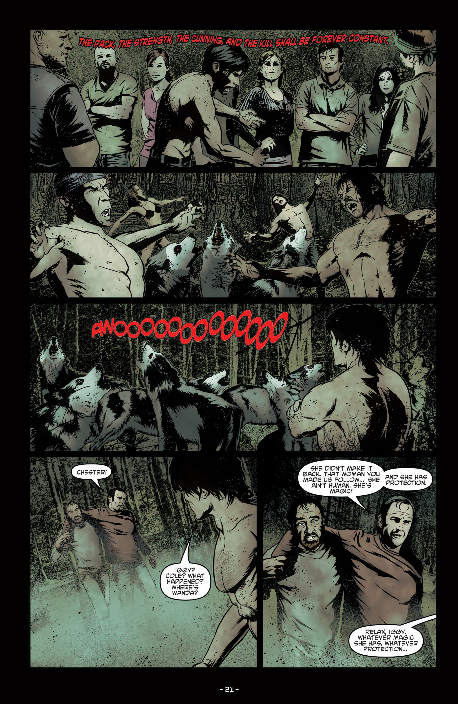Read online True Blood (2012) comic -  Issue #7 - 23