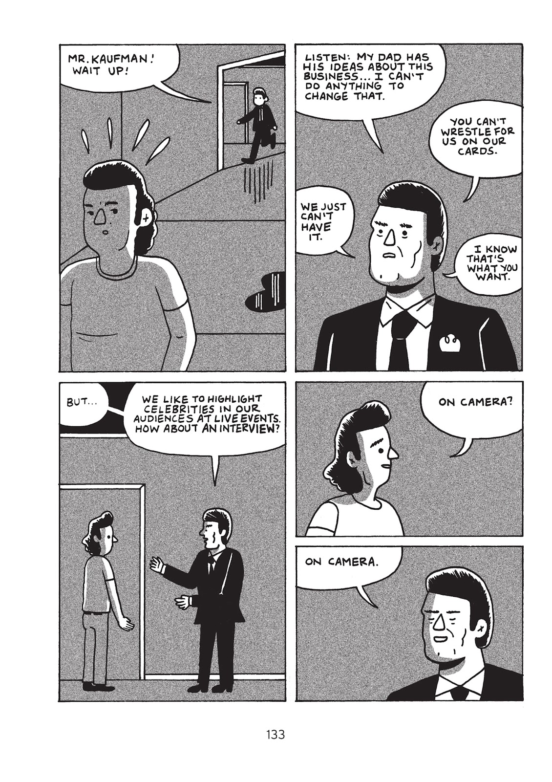 Read online Is This Guy For Real?: The Unbelievable Andy Kaufman comic -  Issue # TPB (Part 2) - 39
