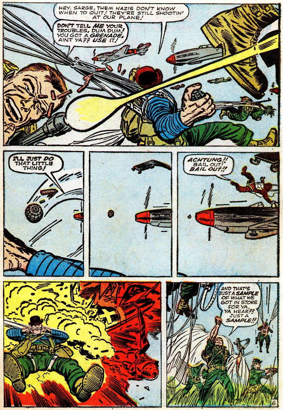 Read online Sgt. Fury comic -  Issue #1 - 11