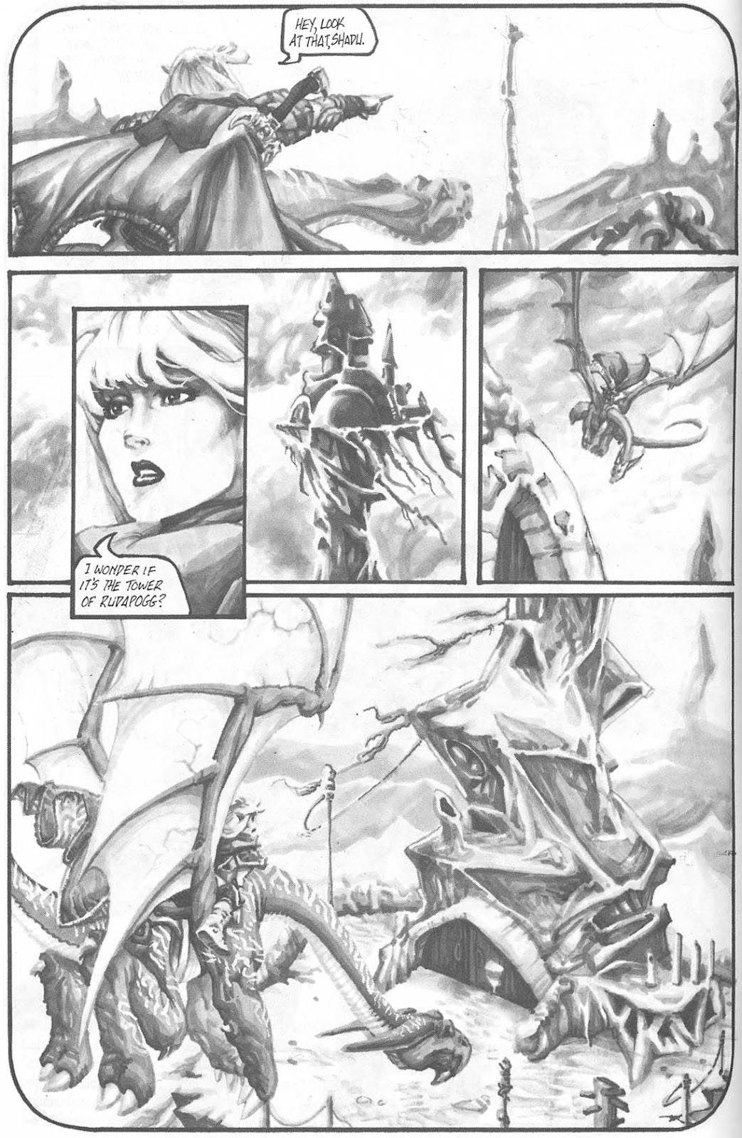 Read online Animal Mystic comic -  Issue #4 - 5