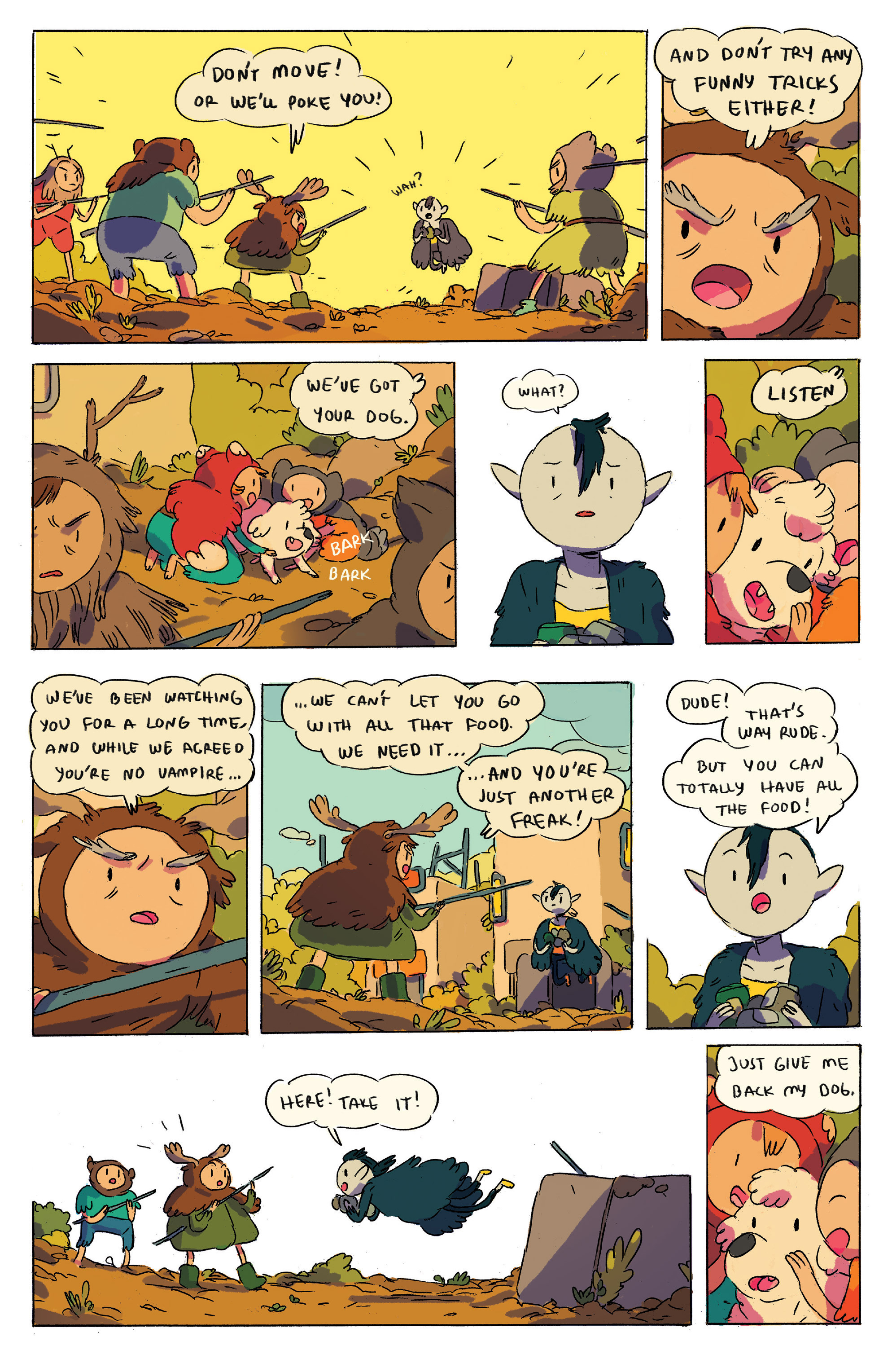 Read online Adventure Time comic -  Issue # _2015 Spoooktacular - 9