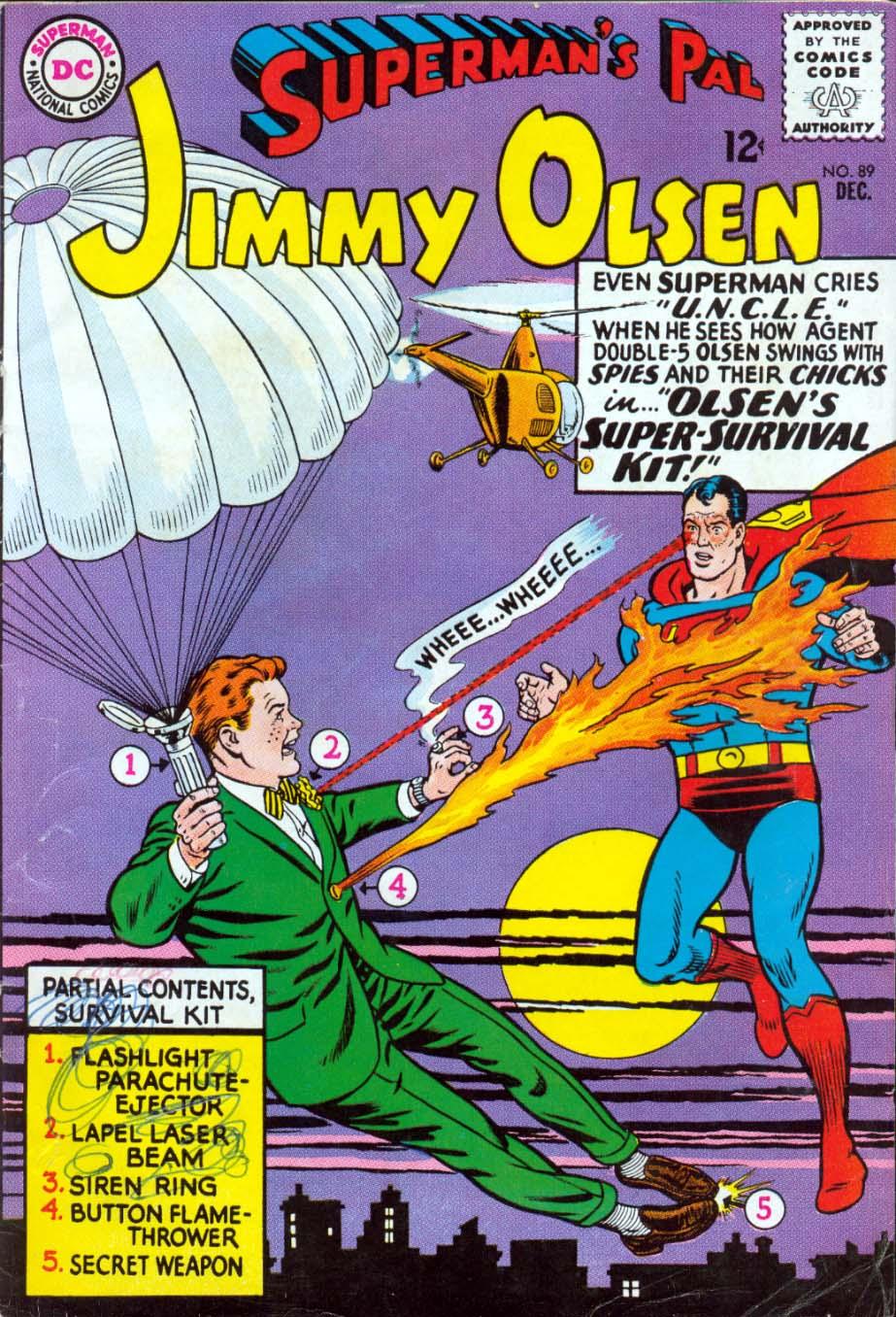 Supermans Pal Jimmy Olsen (1954) 89 Page 1
