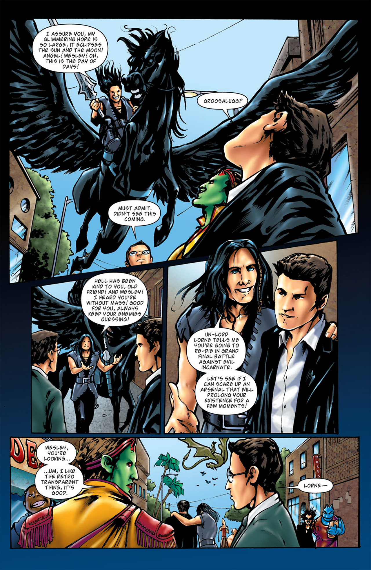 Read online Angel: After The Fall comic -  Issue #4 - 21