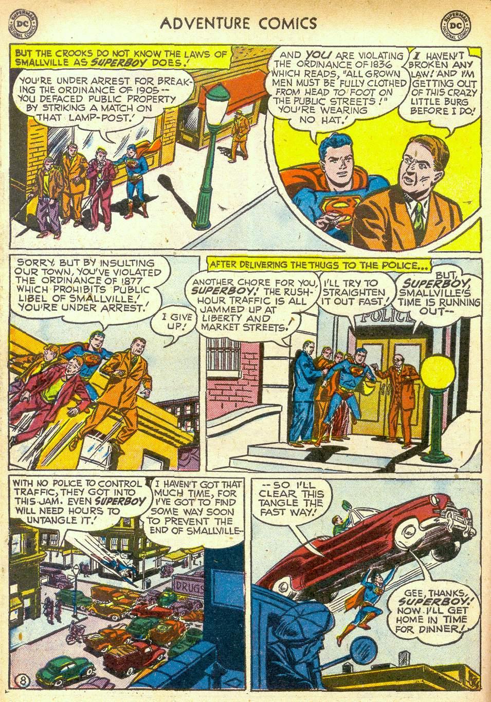 Read online Adventure Comics (1938) comic -  Issue #172 - 10