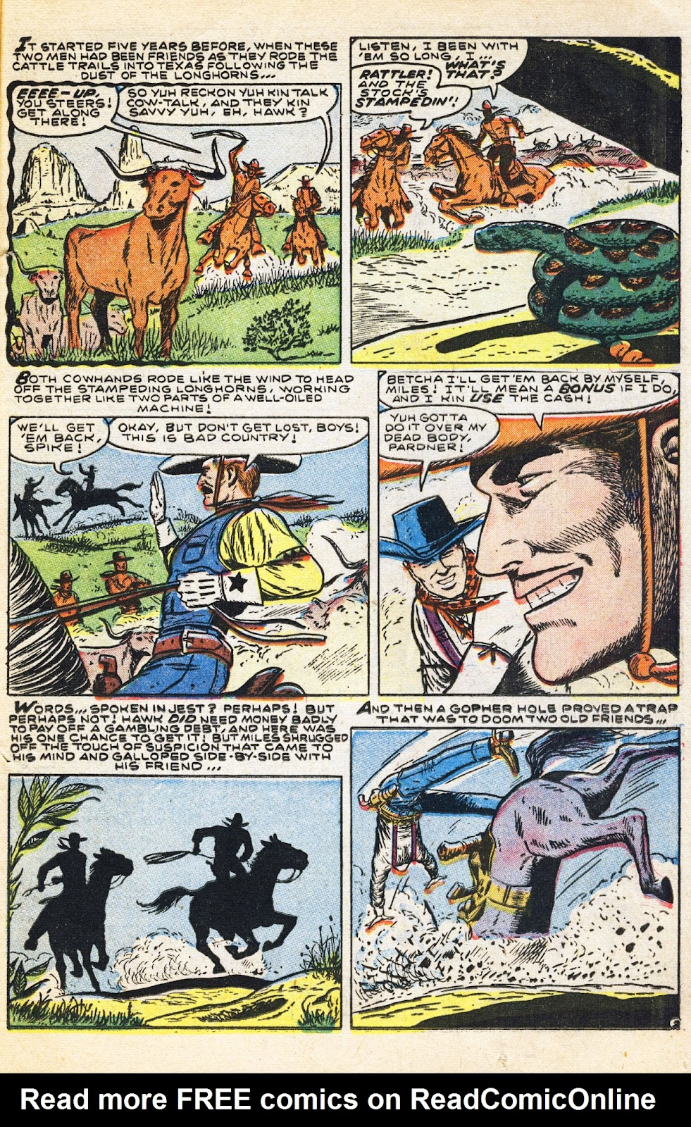 Gunsmoke Western issue 38 - Page 24