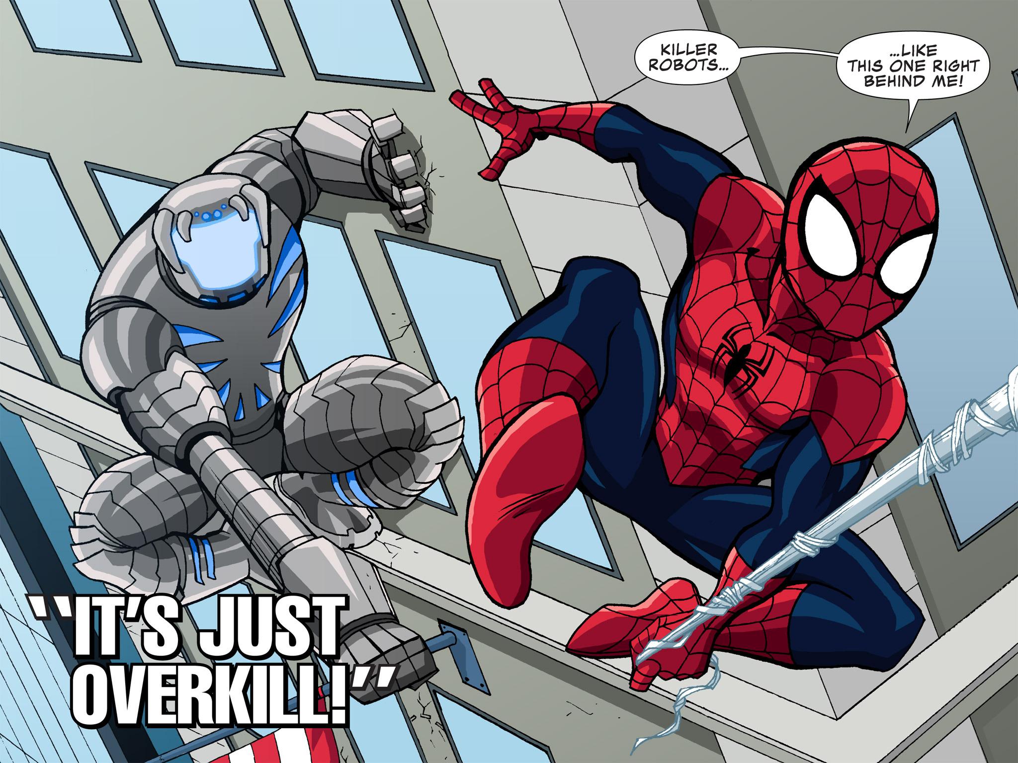 Read online Ultimate Spider-Man (Infinite Comics) (2015) comic -  Issue #3 - 4