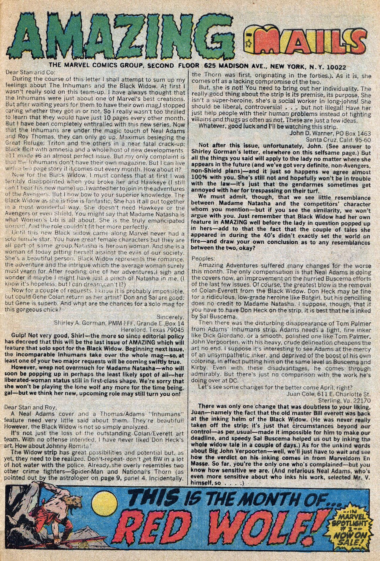 Read online Amazing Adventures (1970) comic -  Issue #8 - 33