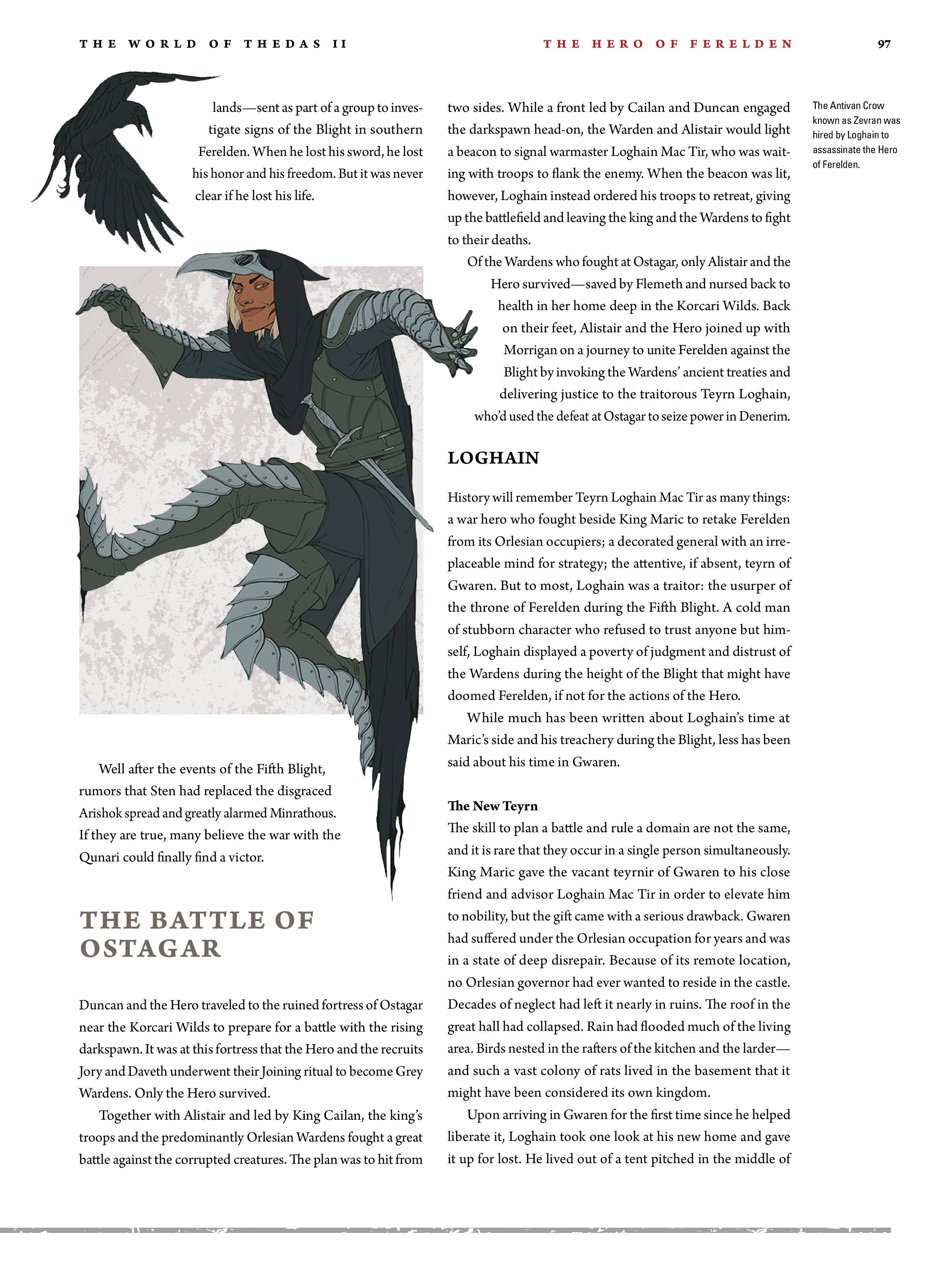 Read online Dragon Age: The World of Thedas comic -  Issue # TPB 2 - 93