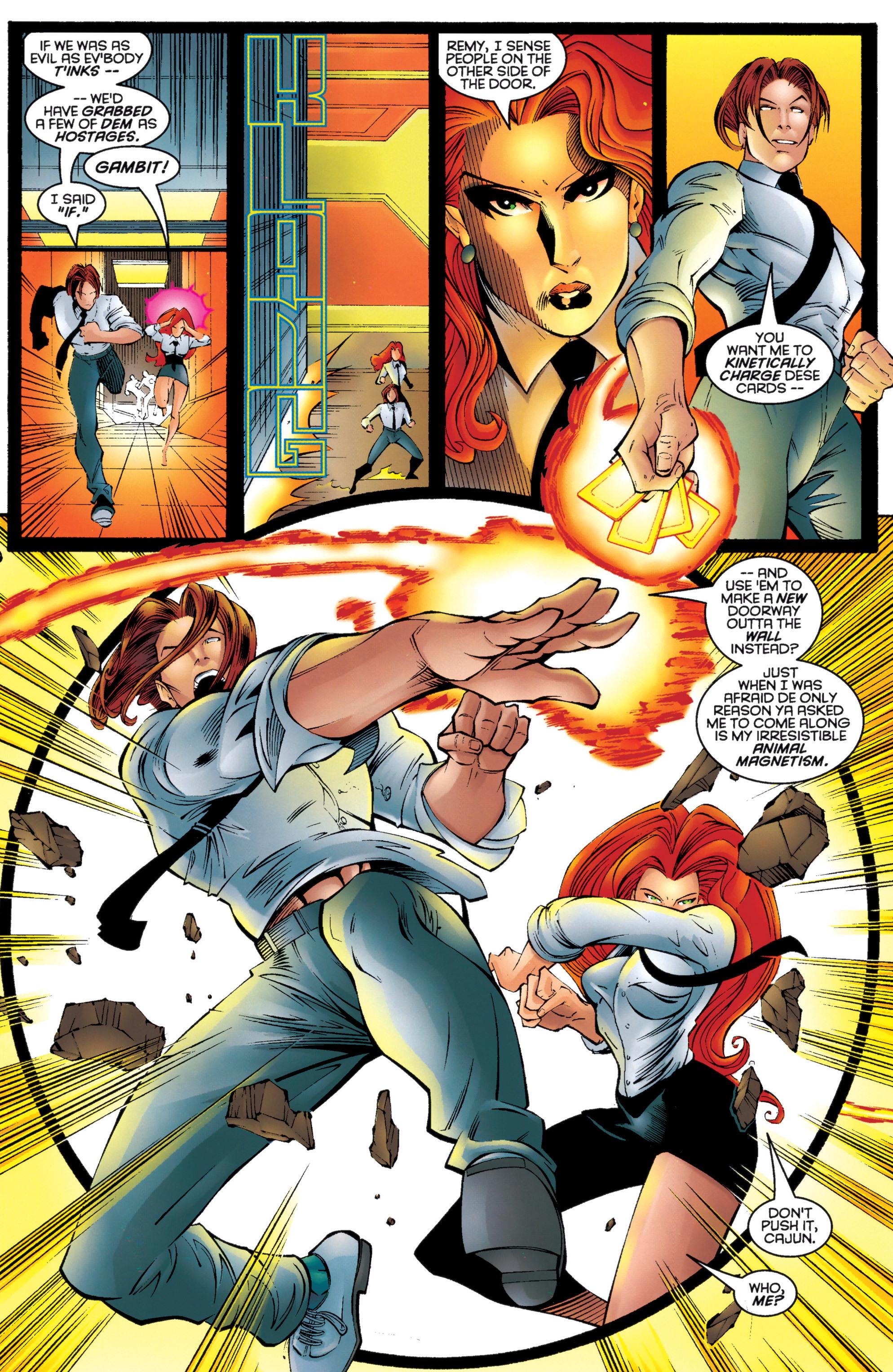 Read online Uncanny X-Men (1963) comic -  Issue #333 - 17