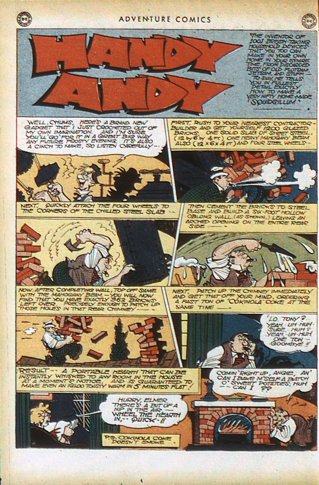 Read online Adventure Comics (1938) comic -  Issue #93 - 33