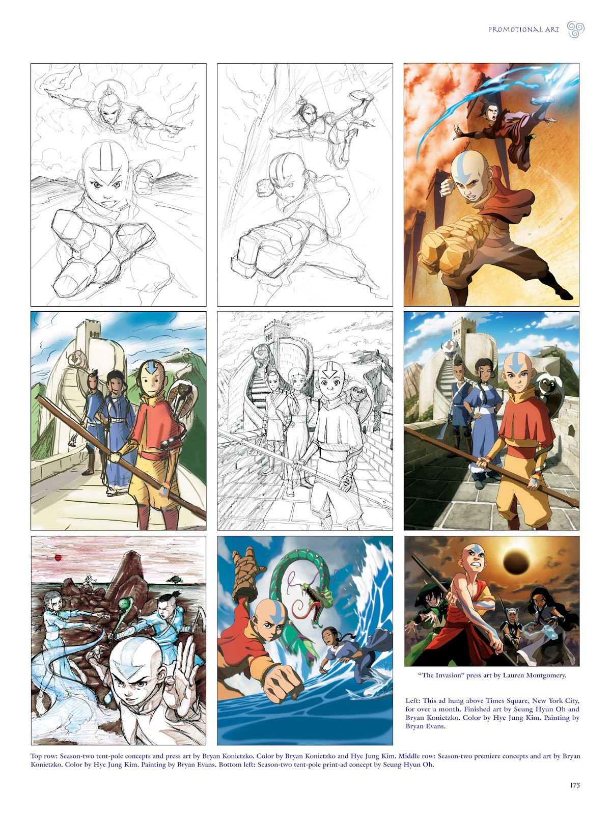 Read online Avatar: The Last Airbender - The Art of the Animated Series comic -  Issue # TPB (Part 2) - 72