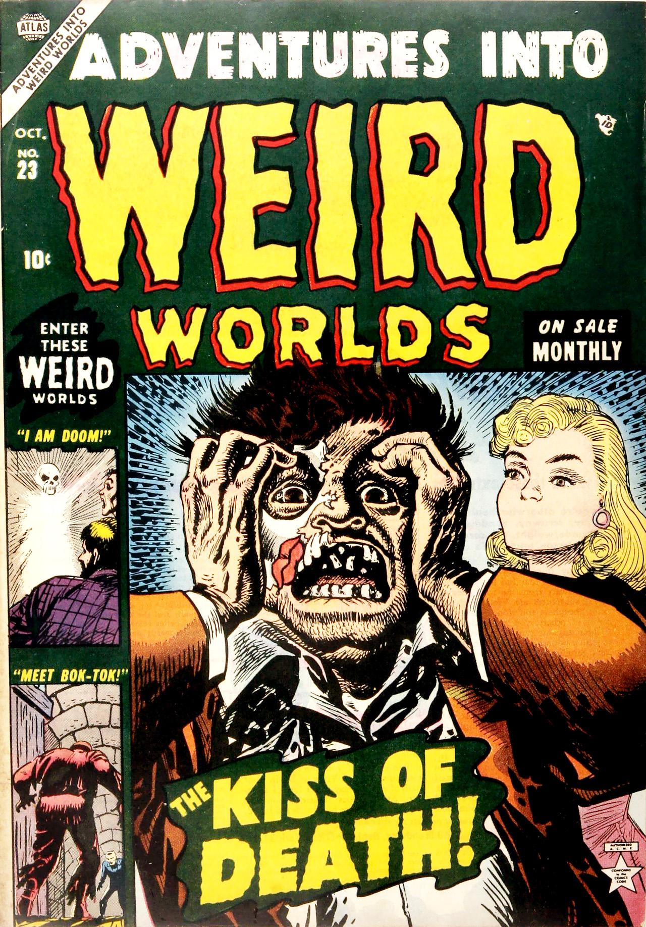 Adventures into Weird Worlds 23 Page 1
