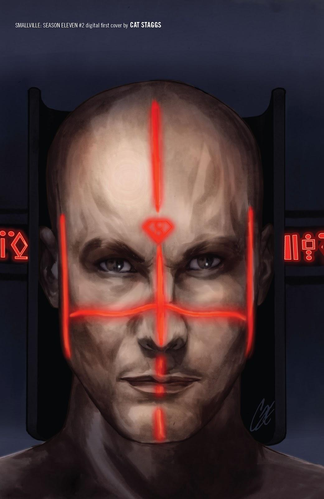 Read online Smallville Season 11 [II] comic -  Issue # TPB 1 - 134