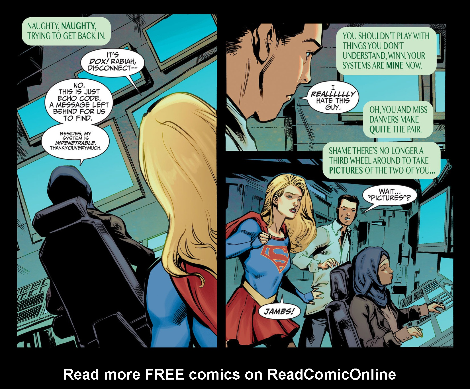 Read online Adventures of Supergirl comic -  Issue #5 - 9
