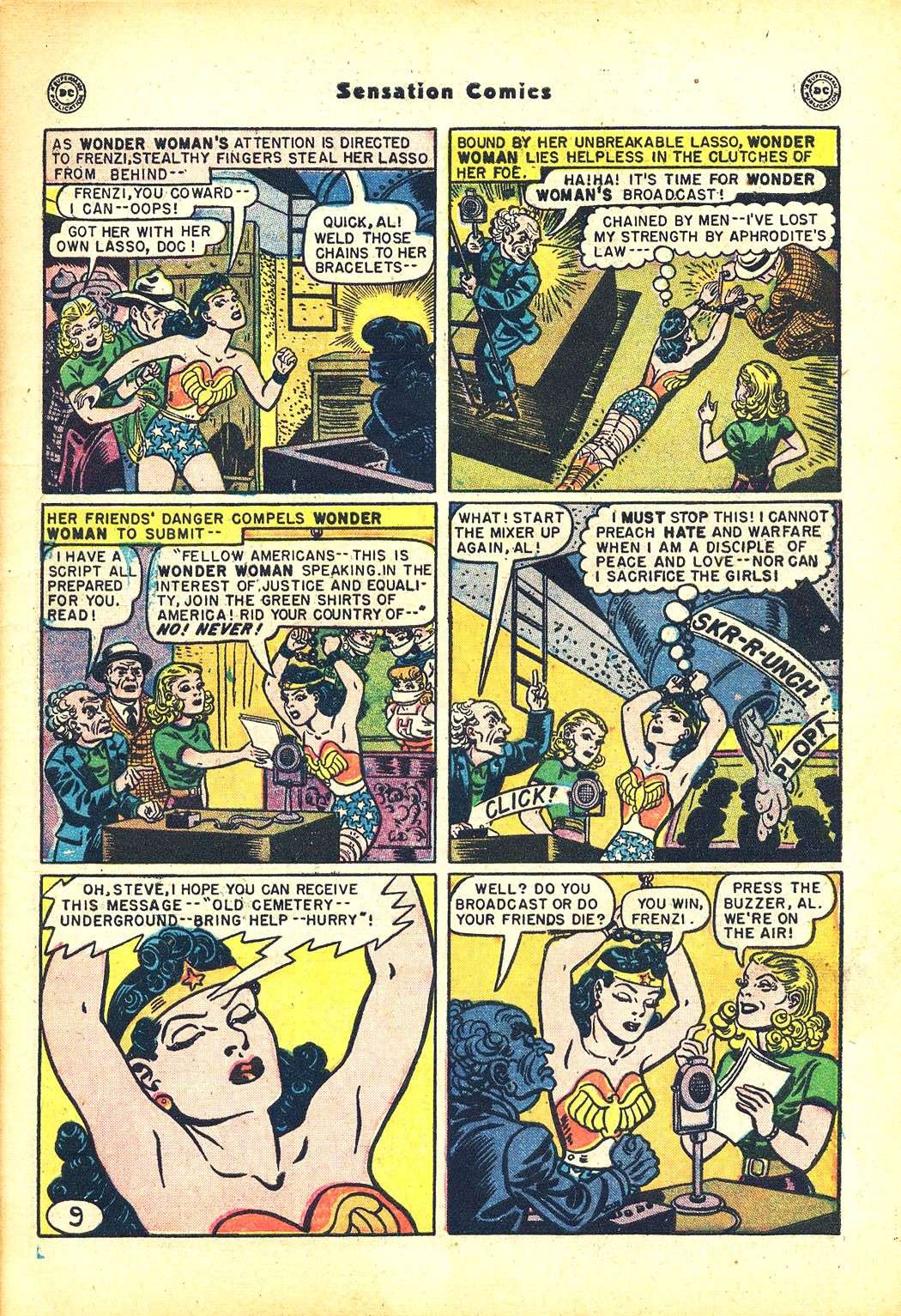 Read online Sensation (Mystery) Comics comic -  Issue #81 - 11