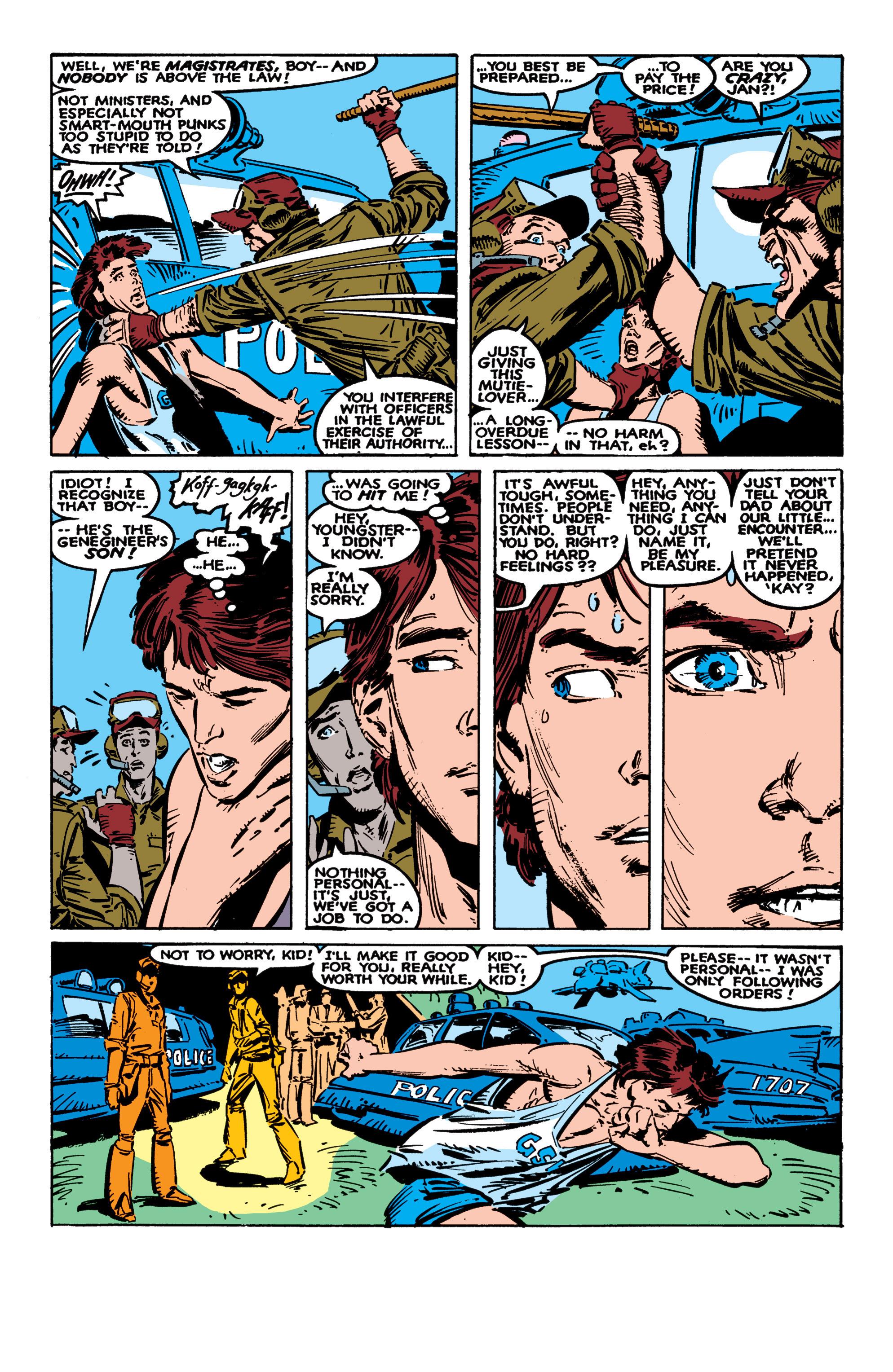Read online Uncanny X-Men (1963) comic -  Issue #236 - 15
