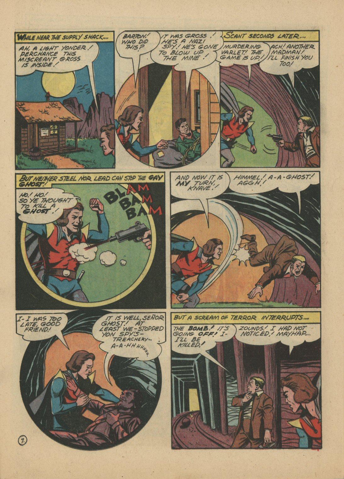 Read online Sensation (Mystery) Comics comic -  Issue #21 - 29