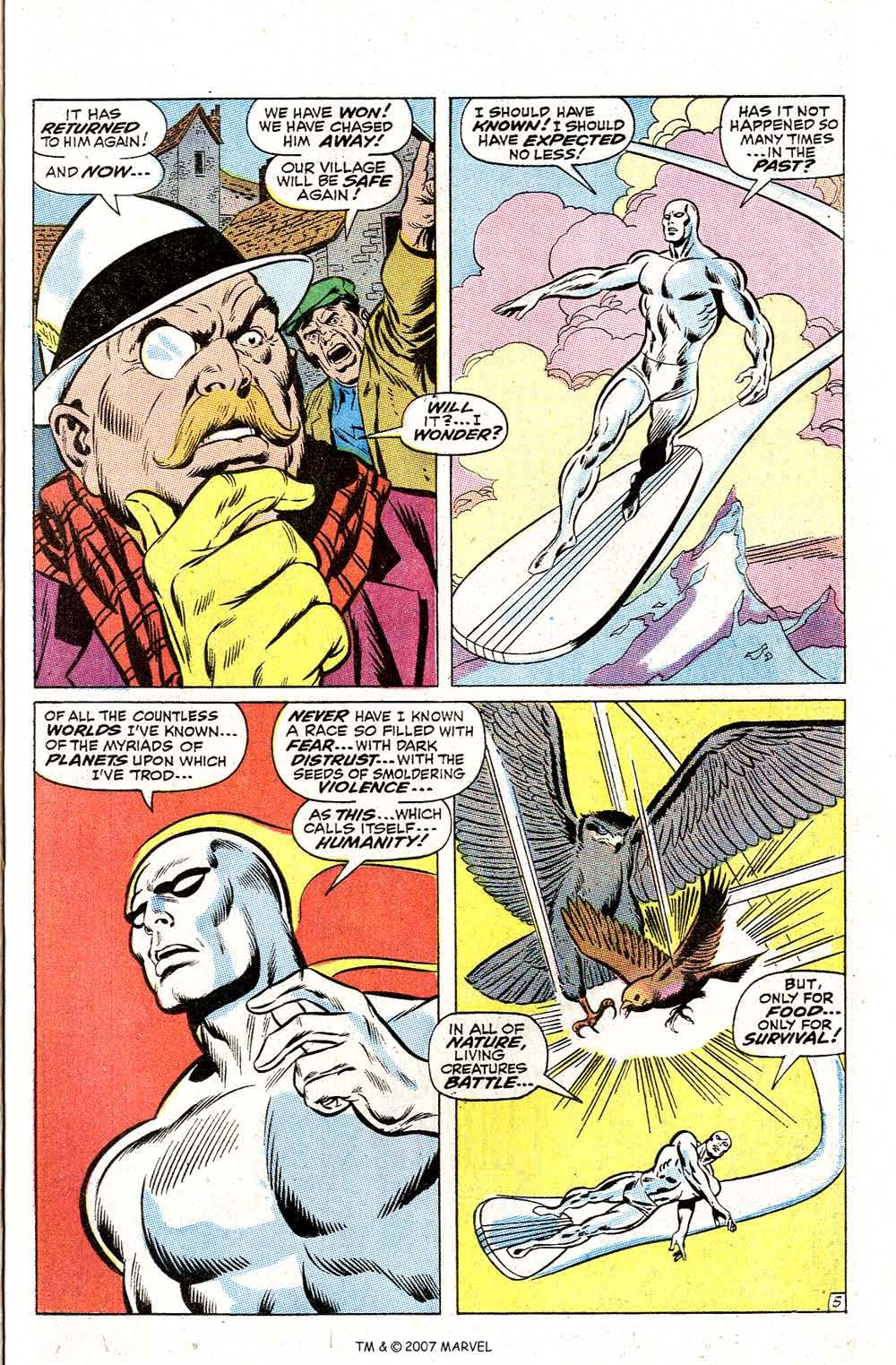 Read online Silver Surfer (1968) comic -  Issue #2 - 7