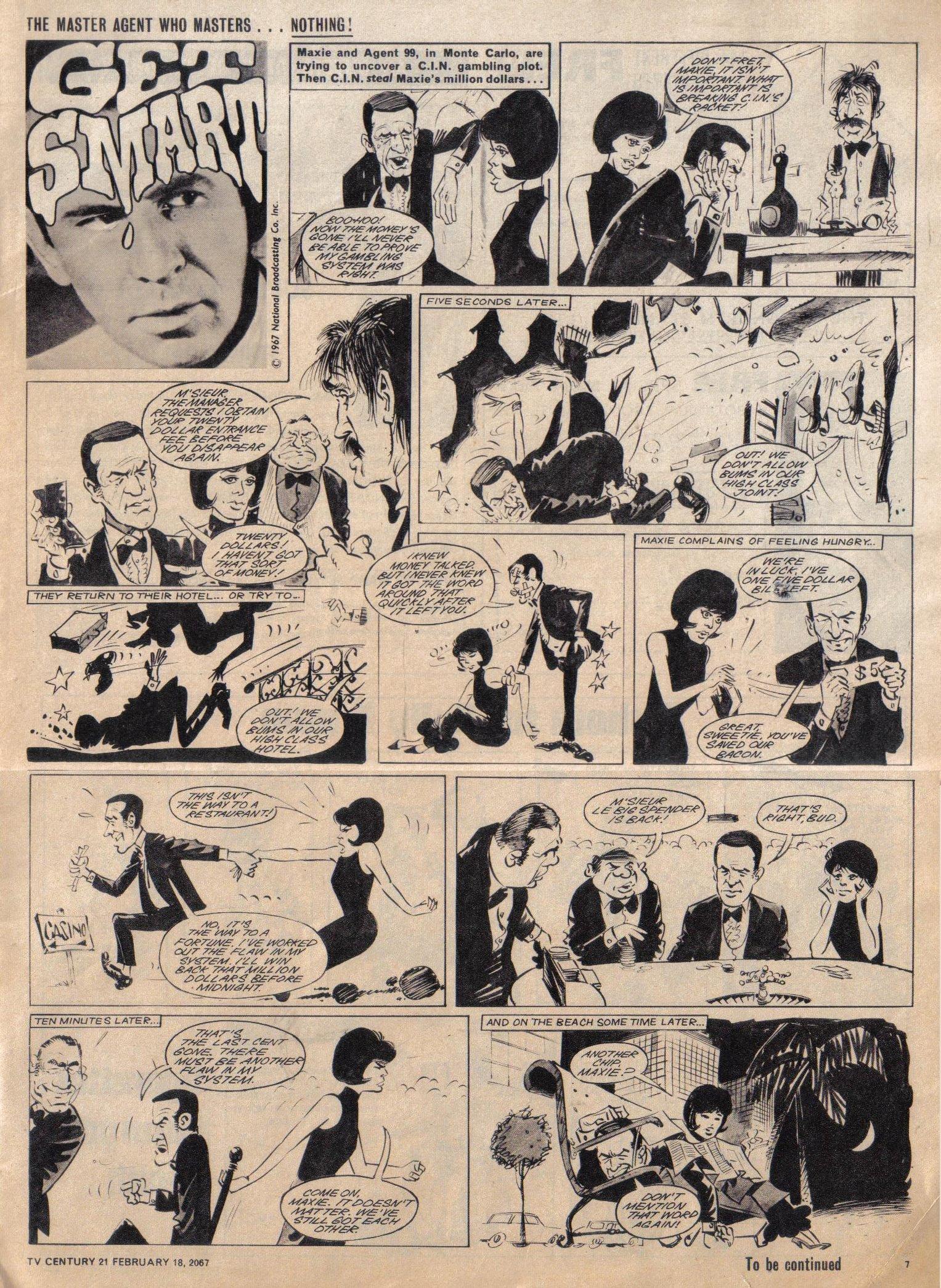 Read online TV Century 21 (TV 21) comic -  Issue #109 - 7