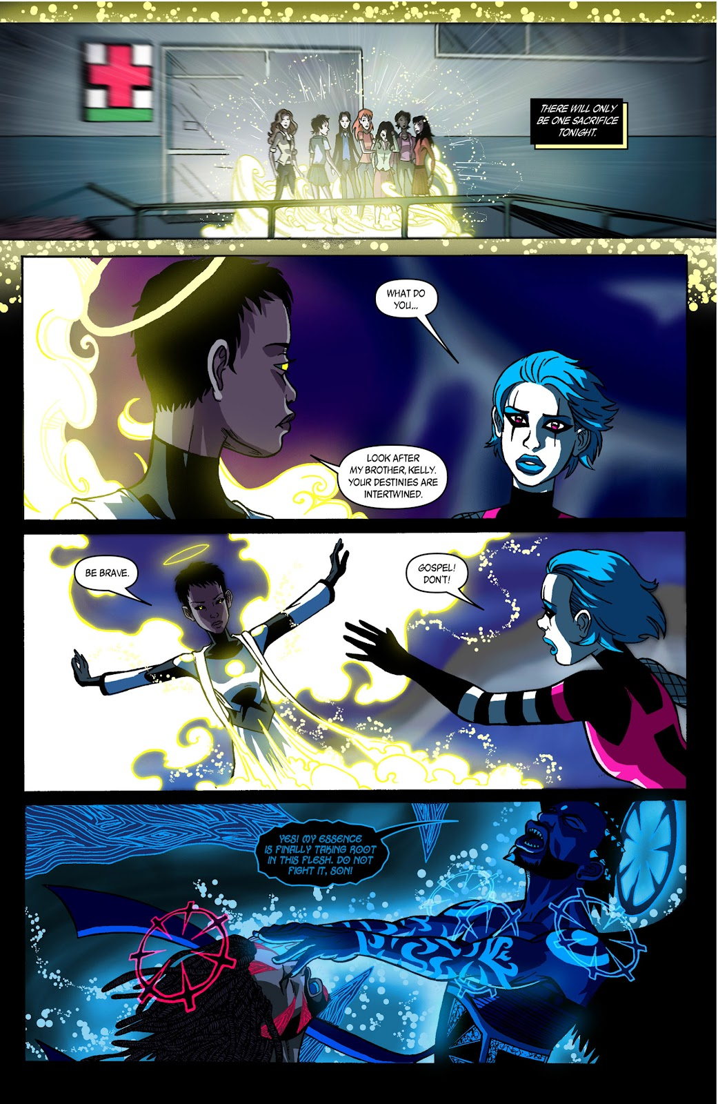 Sentinels issue 3 - Page 19
