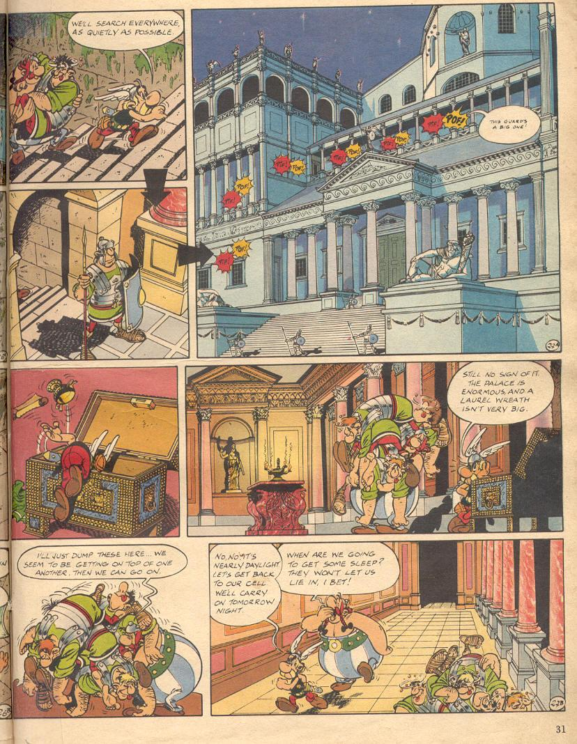 Read online Asterix comic -  Issue #18 - 29
