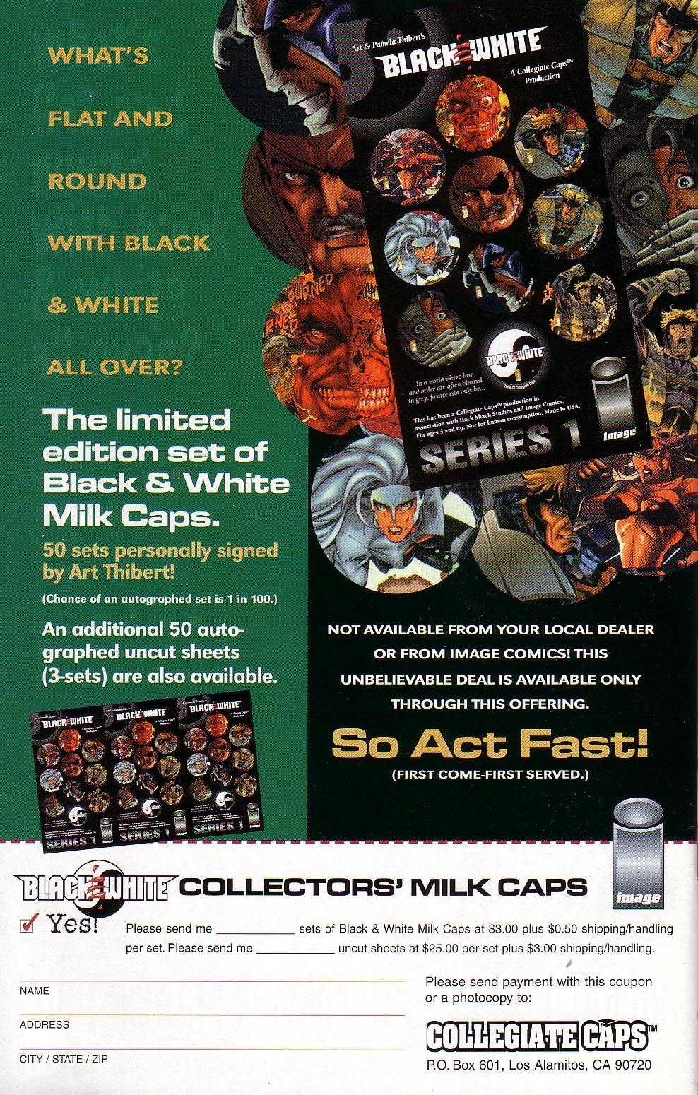 Read online Black & White (1996) comic -  Issue # Full - 32