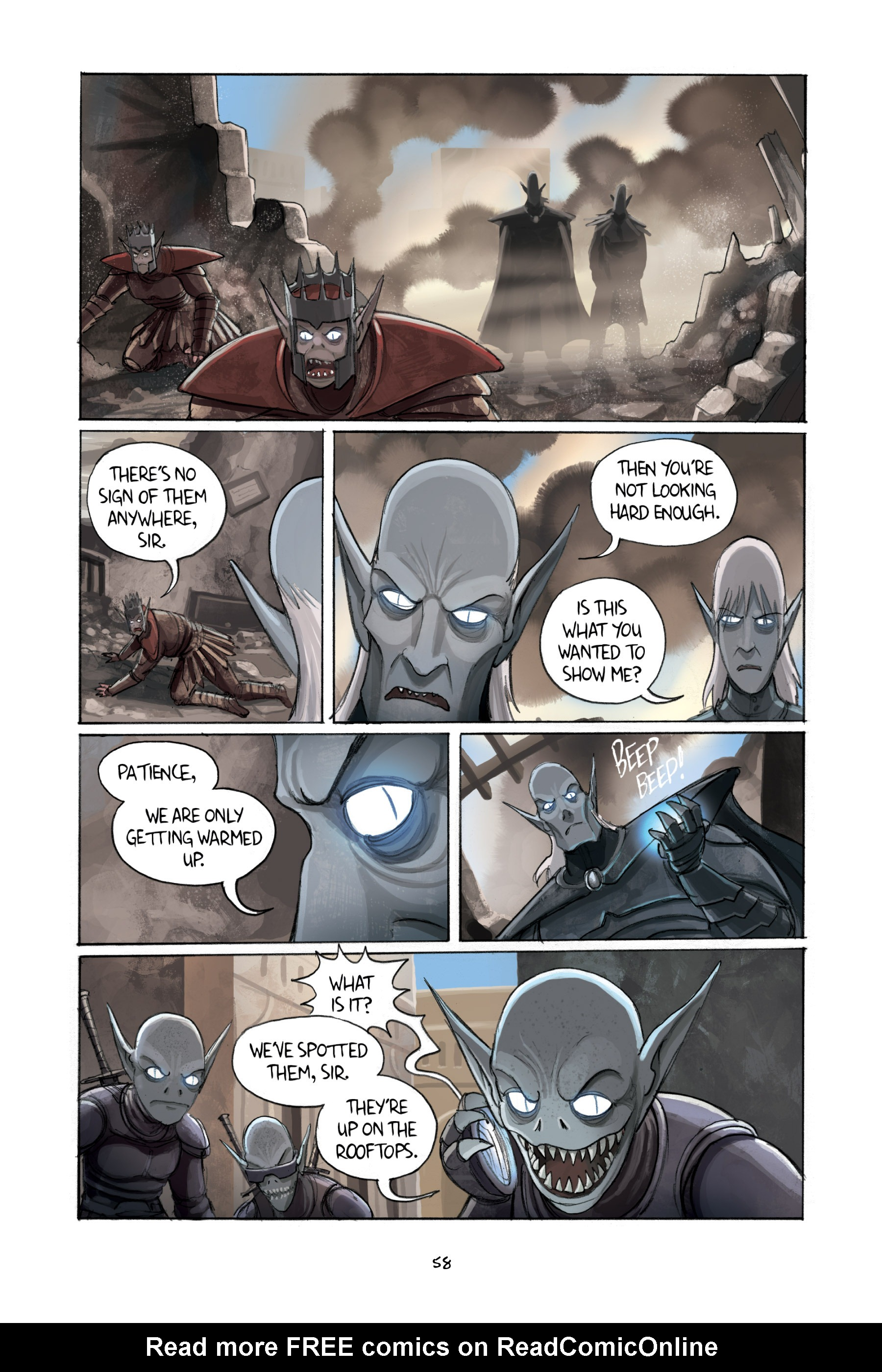 Read online Amulet comic -  Issue #2 - 60