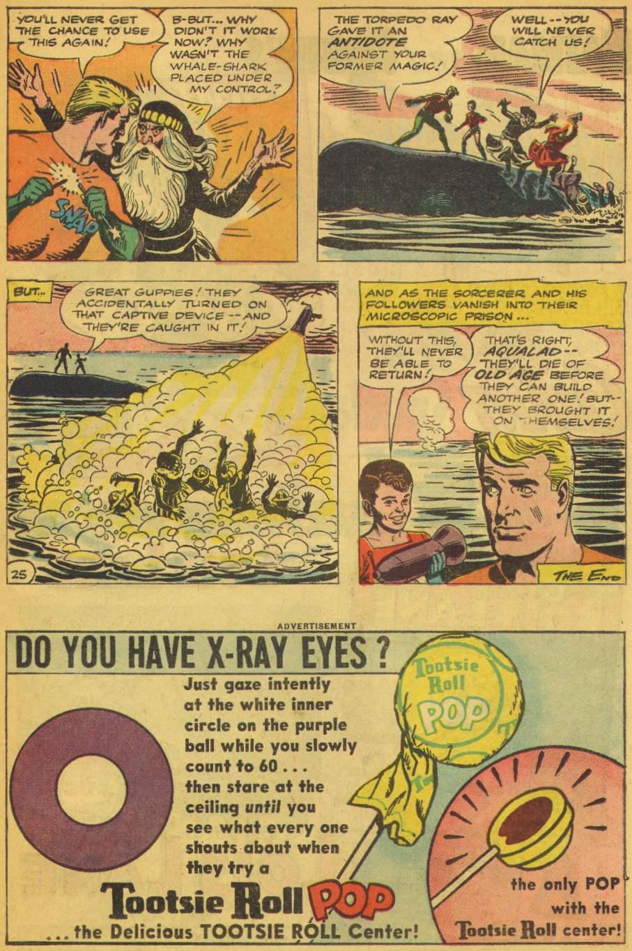 Read online Aquaman (1962) comic -  Issue #5 - 31