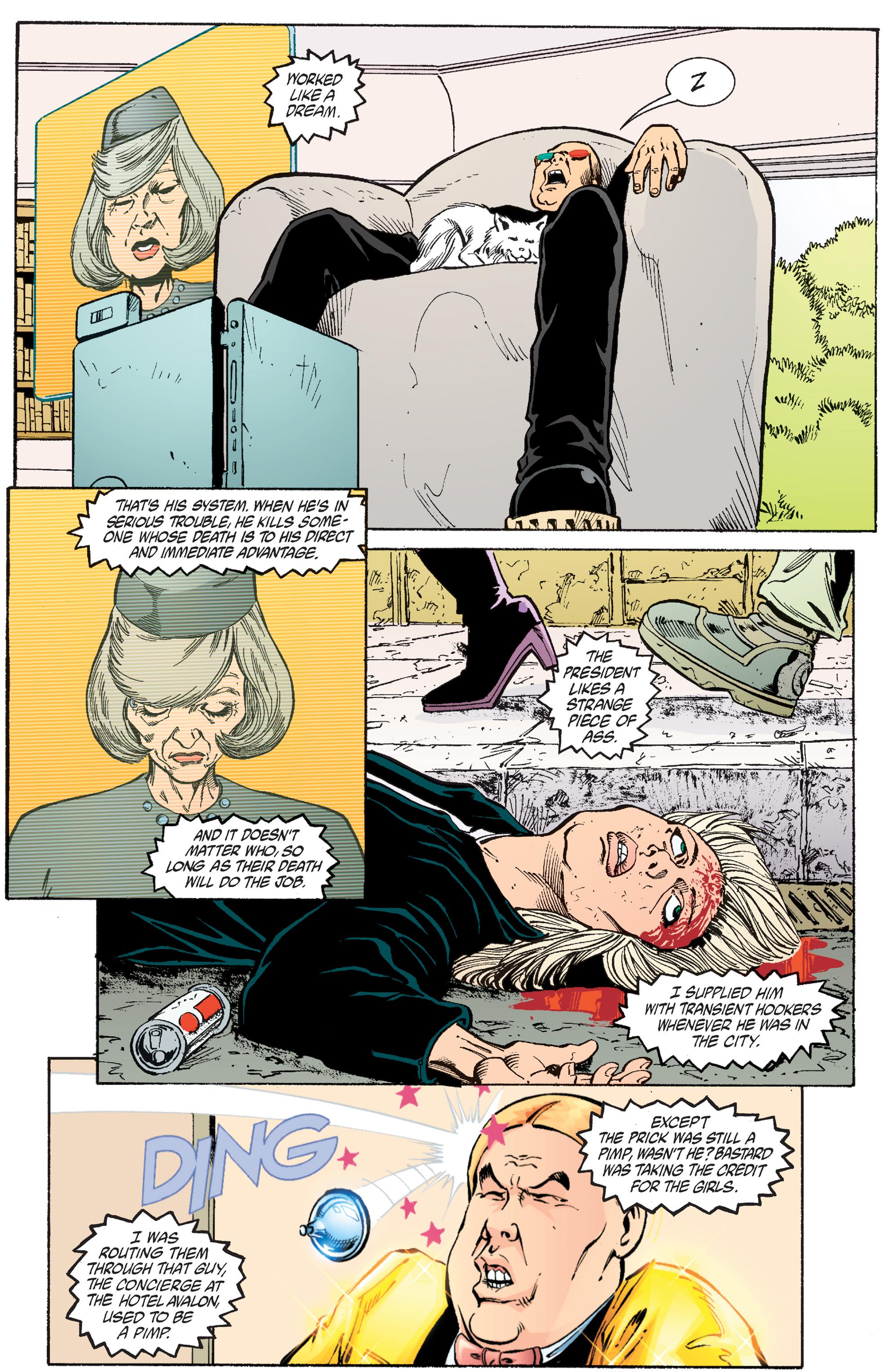 Read online Transmetropolitan comic -  Issue #56 - 12