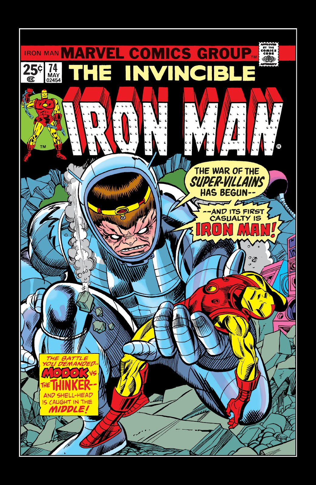 Read online Marvel Masterworks: The Invincible Iron Man comic -  Issue # TPB 10 (Part 2) - 17
