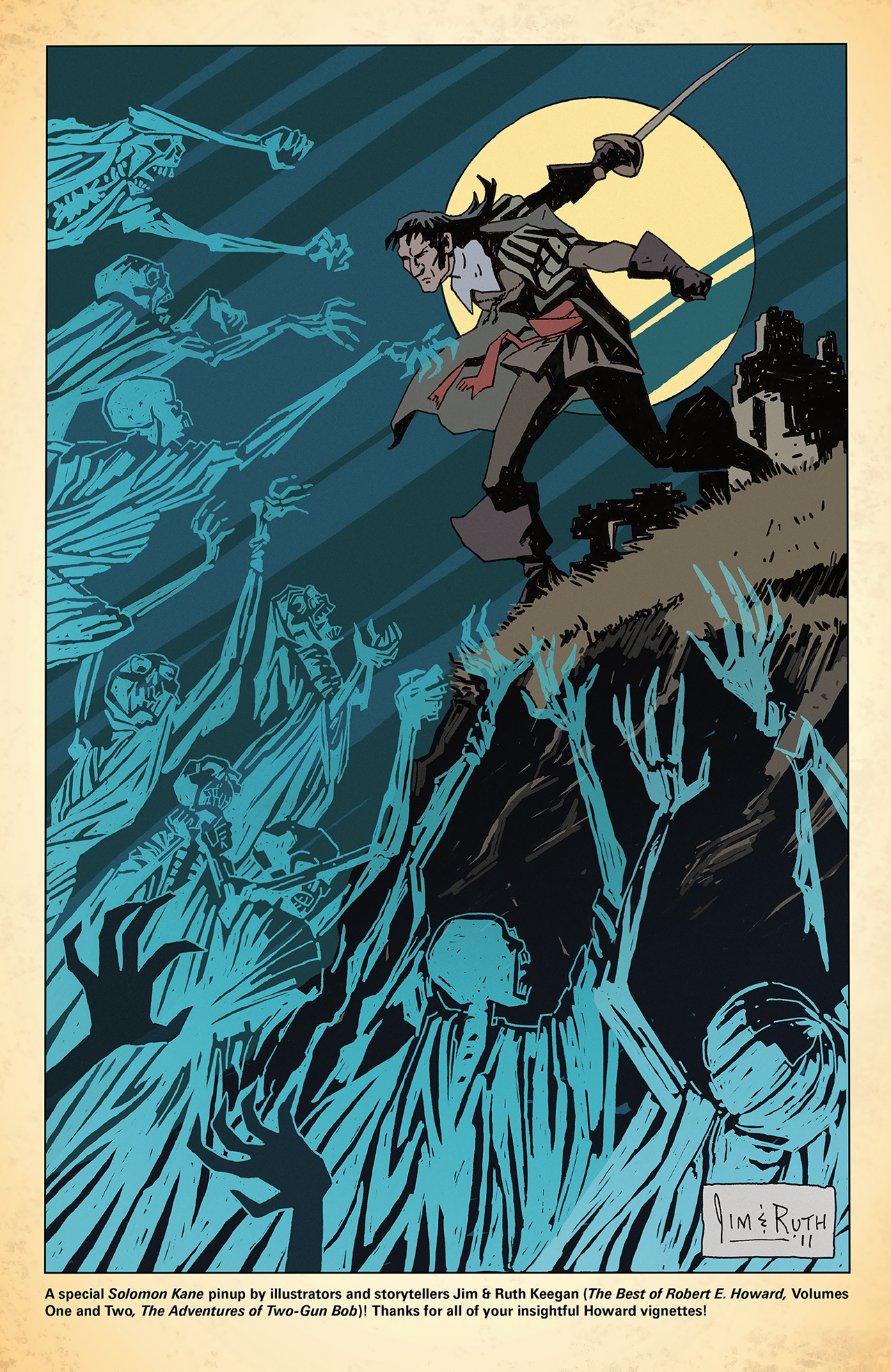 Read online Solomon Kane: Red Shadows comic -  Issue #4 - 28