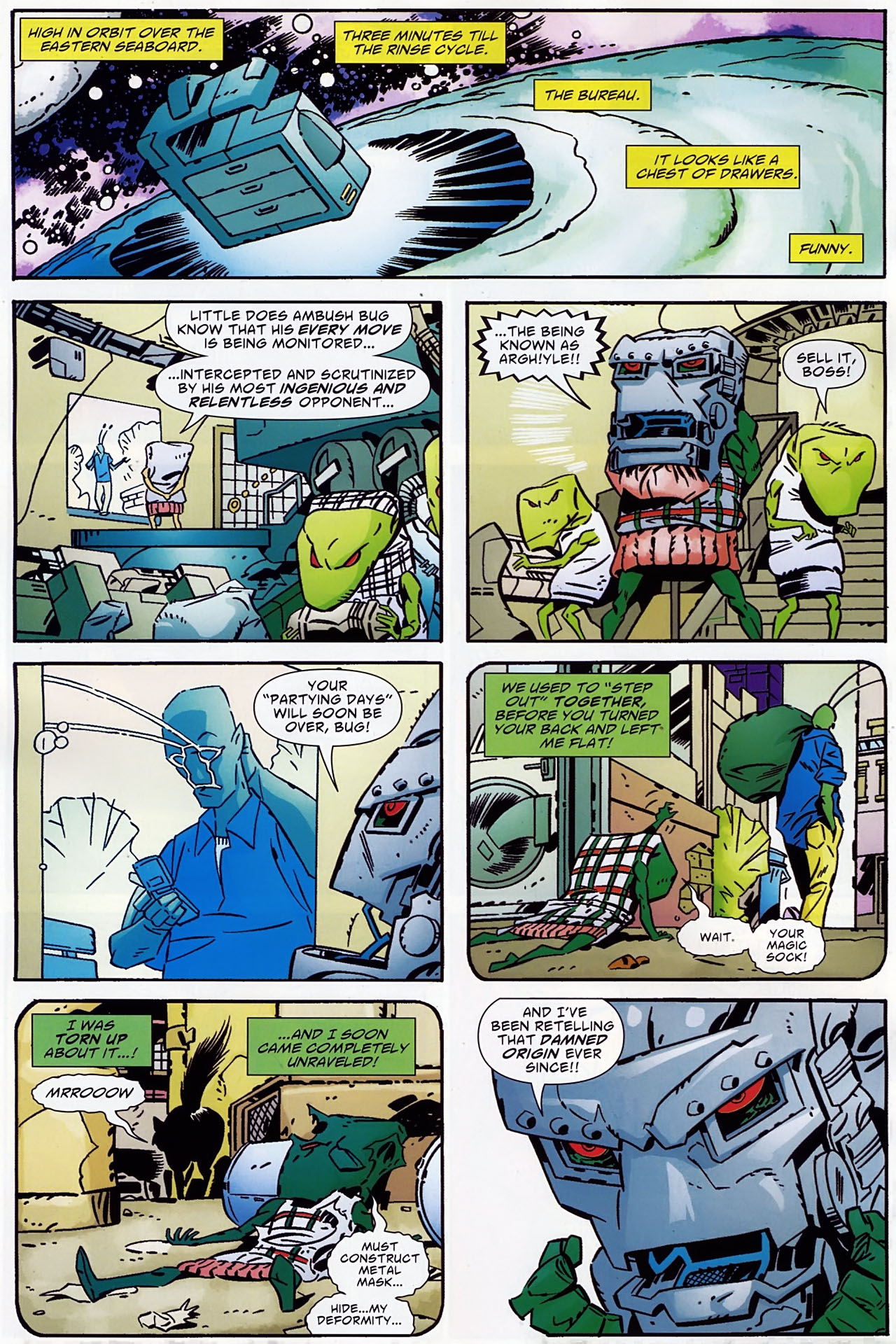 Read online Ambush Bug: Year None comic -  Issue #1 - 9