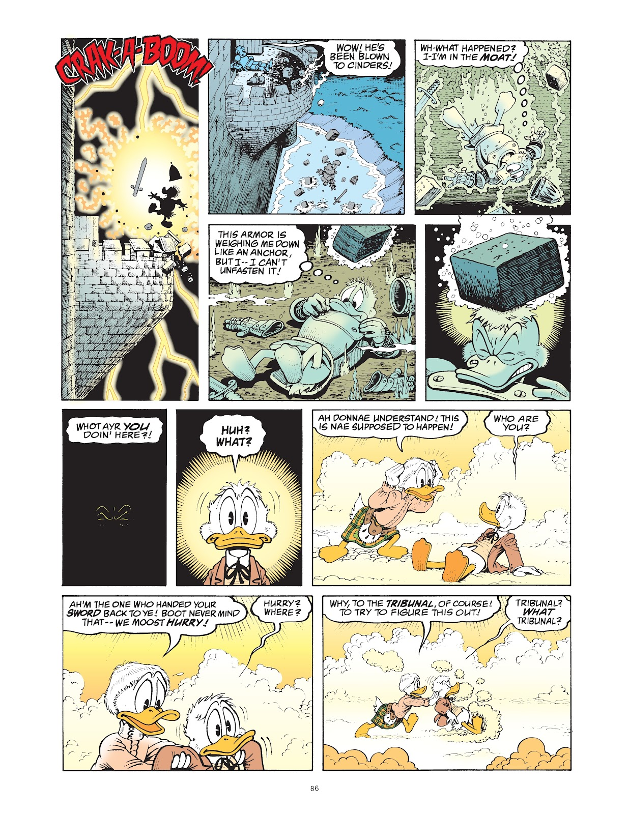 Read online The Complete Life and Times of Scrooge McDuck comic -  Issue # TPB 1 (Part 1) - 89