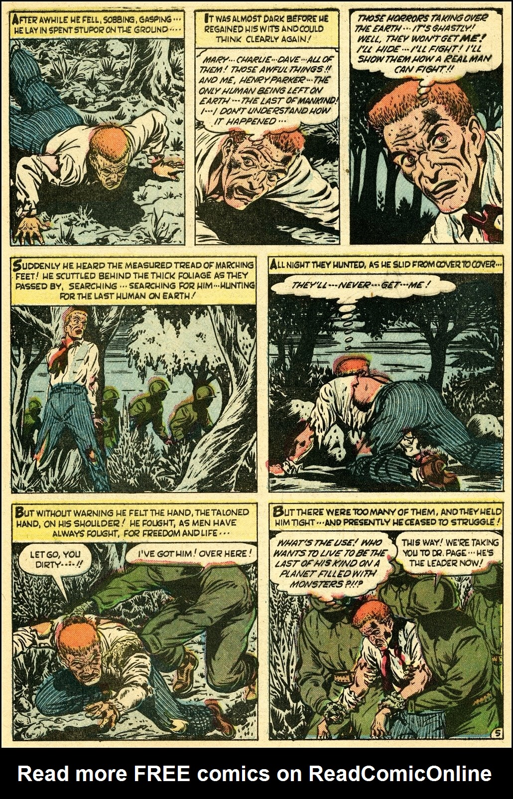Read online Adventures into Weird Worlds comic -  Issue #25 - 6