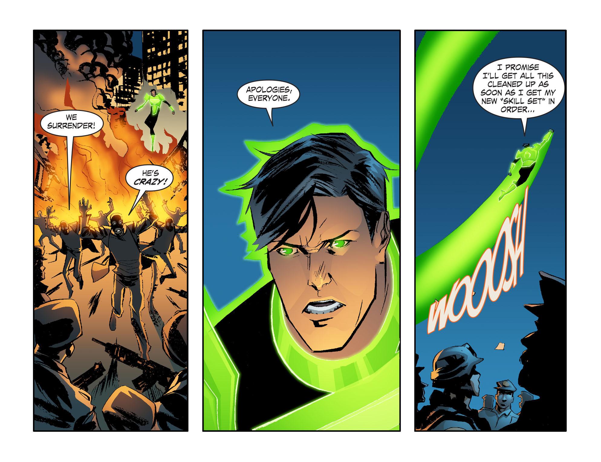 Read online Smallville: Lantern [I] comic -  Issue #2 - 21