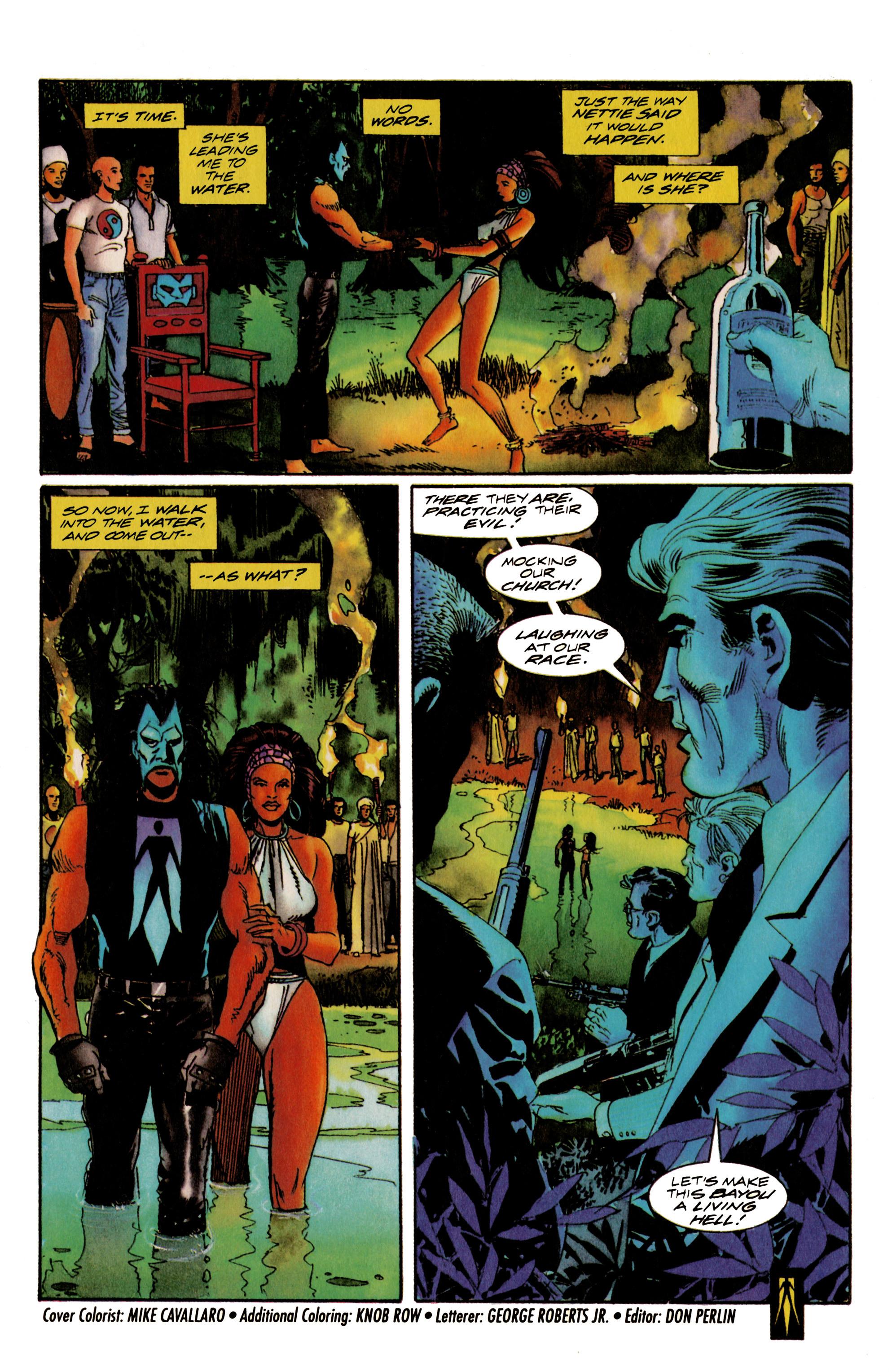 Read online Shadowman (1992) comic -  Issue #17 - 22