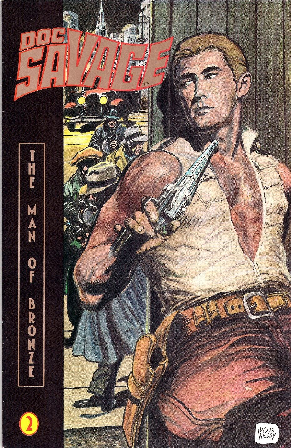 Doc Savage: The Man of Bronze 2 Page 1