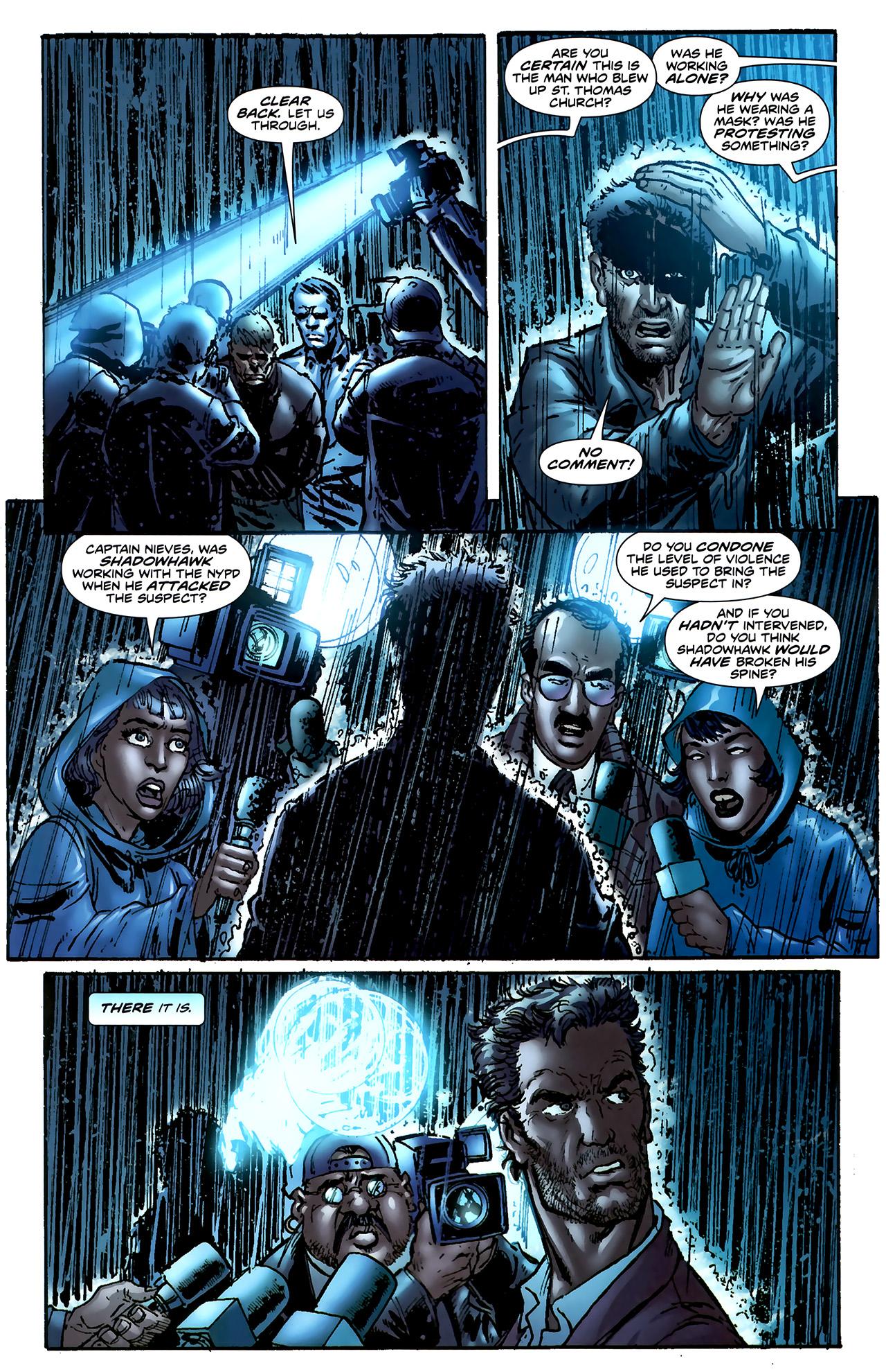 Read online ShadowHawk (2010) comic -  Issue #4 - 8