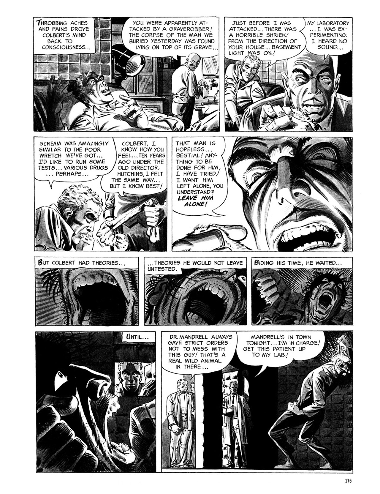 Read online Eerie Archives comic -  Issue # TPB 1 - 176