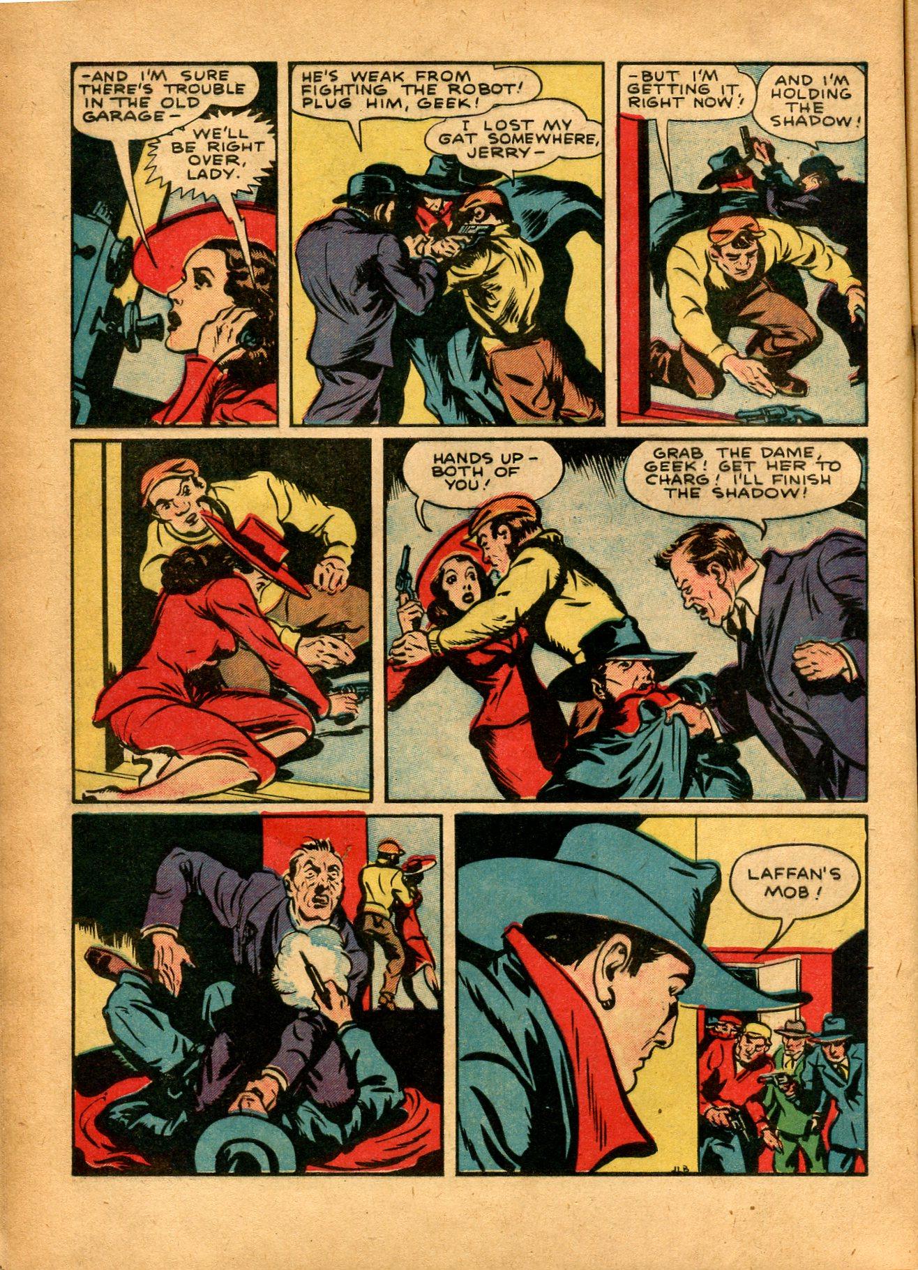 Read online Shadow Comics comic -  Issue #8 - 14