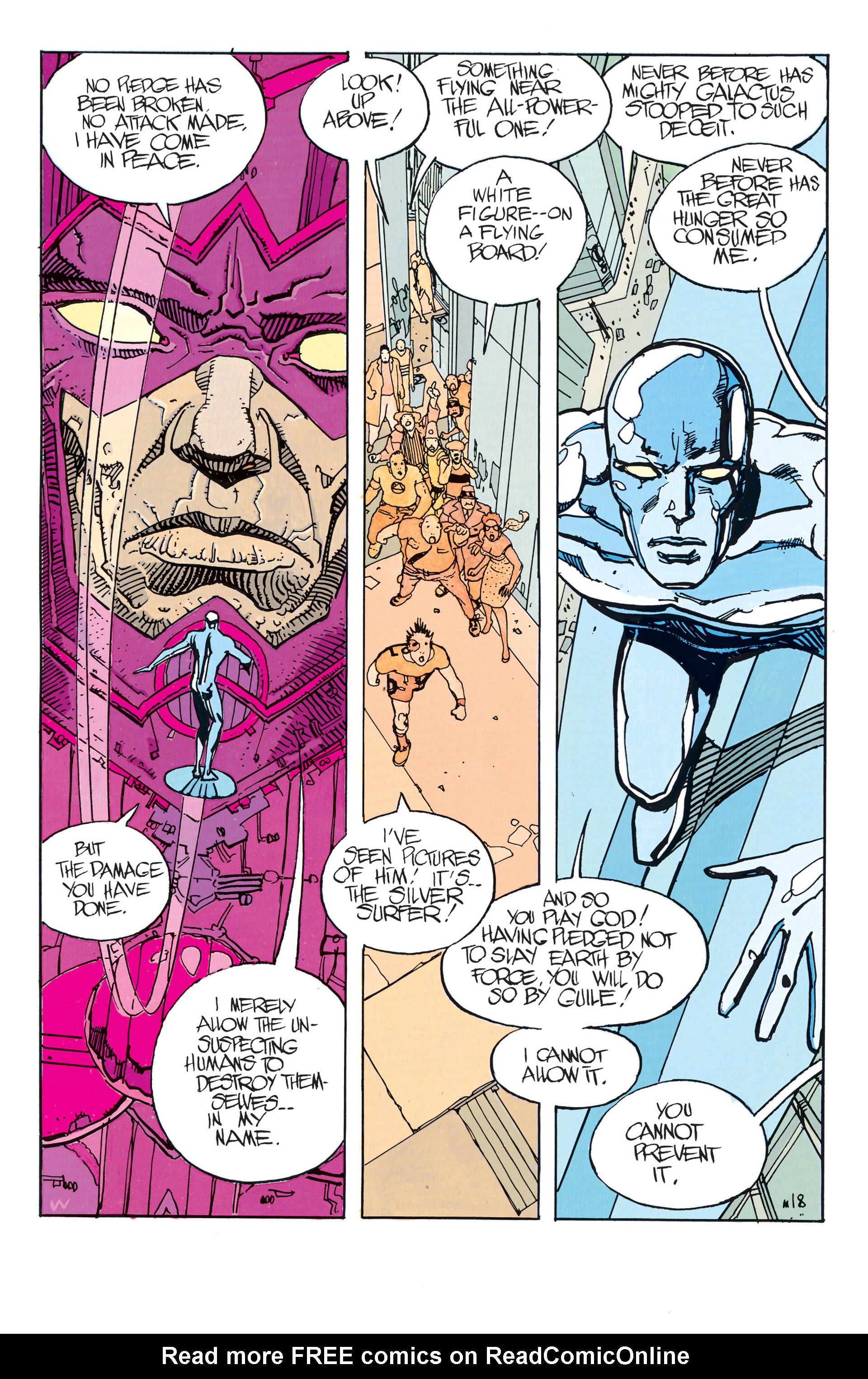 Read online Silver Surfer (1988) comic -  Issue #2 - 4