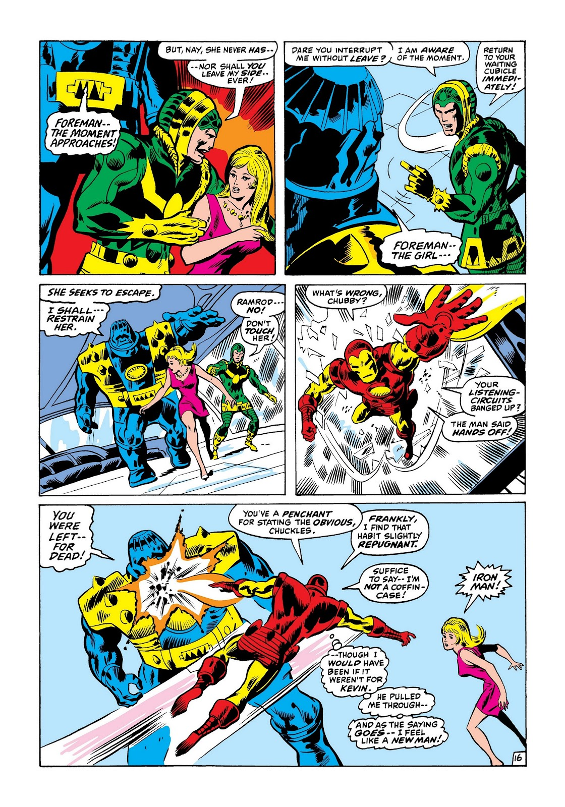 Read online Marvel Masterworks: The Invincible Iron Man comic -  Issue # TPB 7 (Part 3) - 64