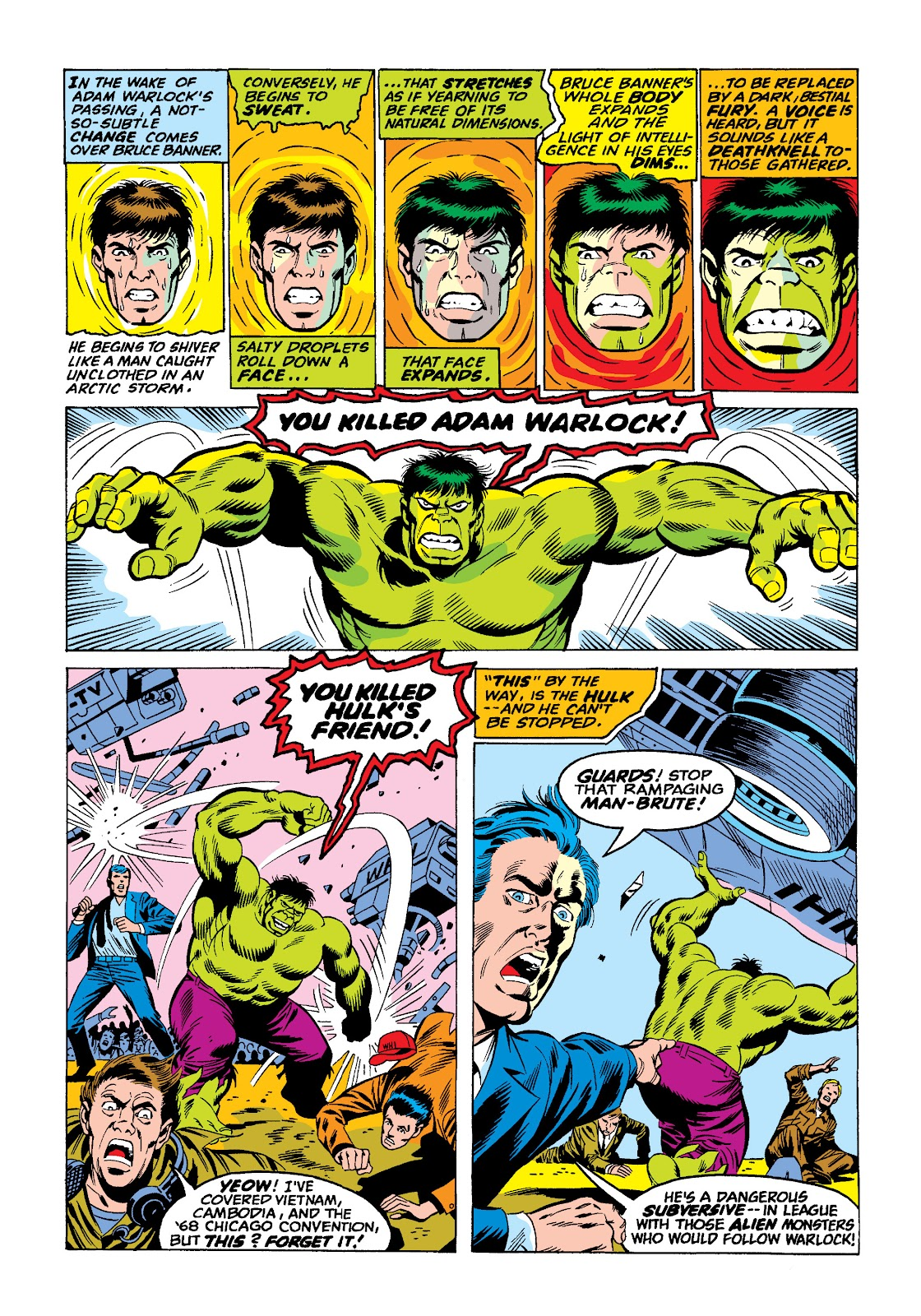 Read online Marvel Masterworks: The Incredible Hulk comic -  Issue # TPB 10 (Part 2) - 48