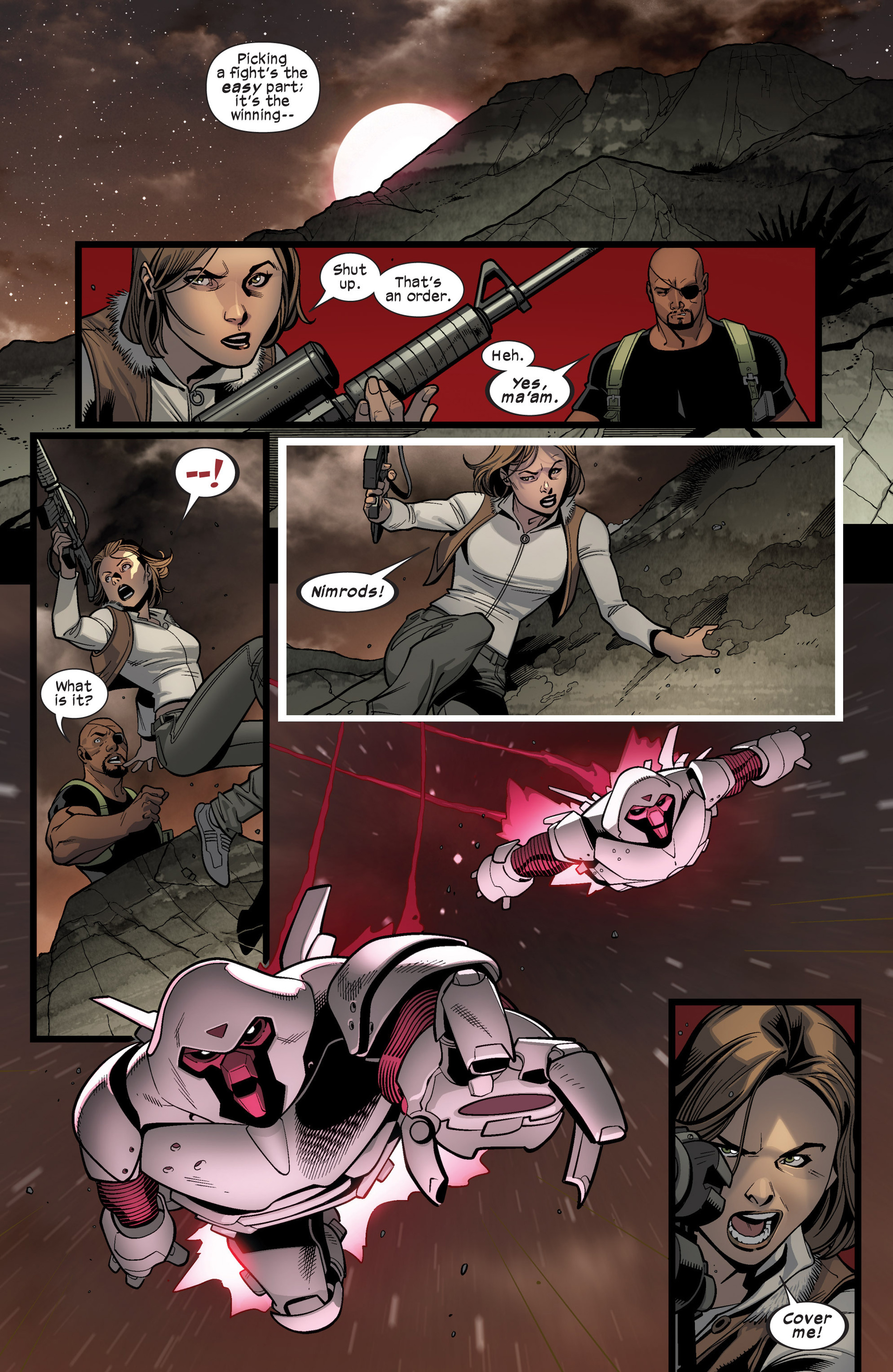 Read online Ultimate Comics X-Men comic -  Issue #16 - 19
