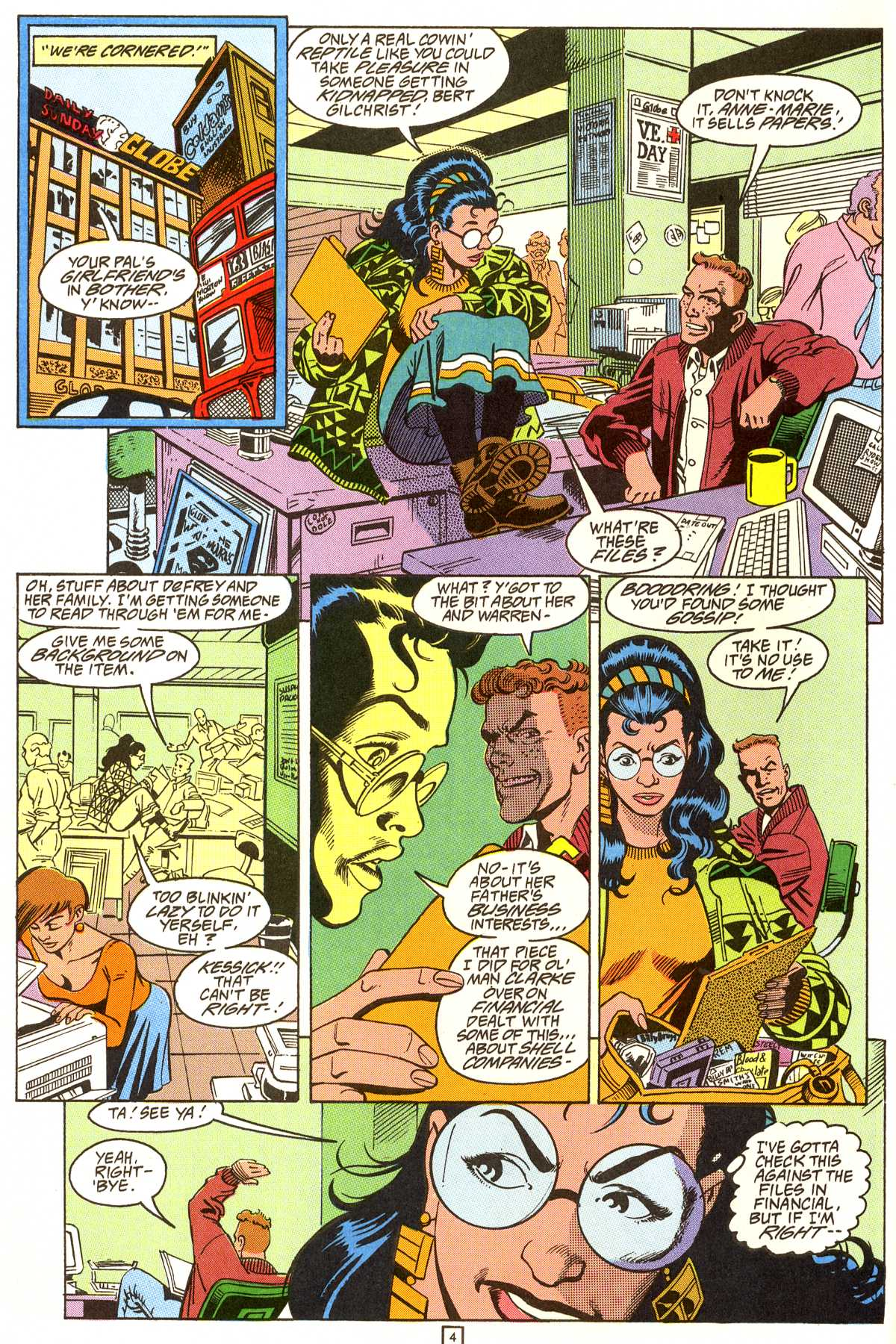 Read online Peter Cannon--Thunderbolt (1992) comic -  Issue #9 - 5