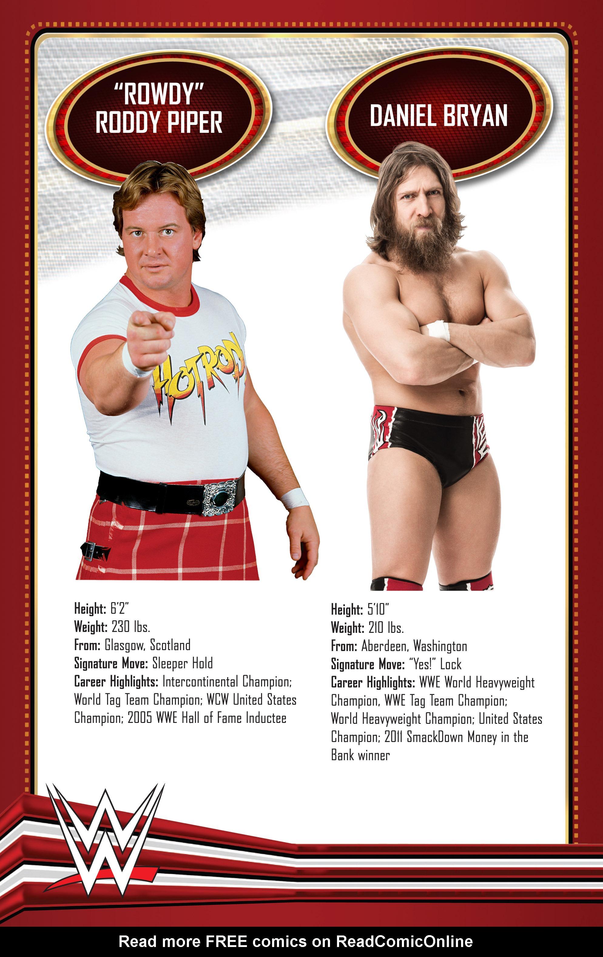 Read online WWE Superstars comic -  Issue #11 - 25