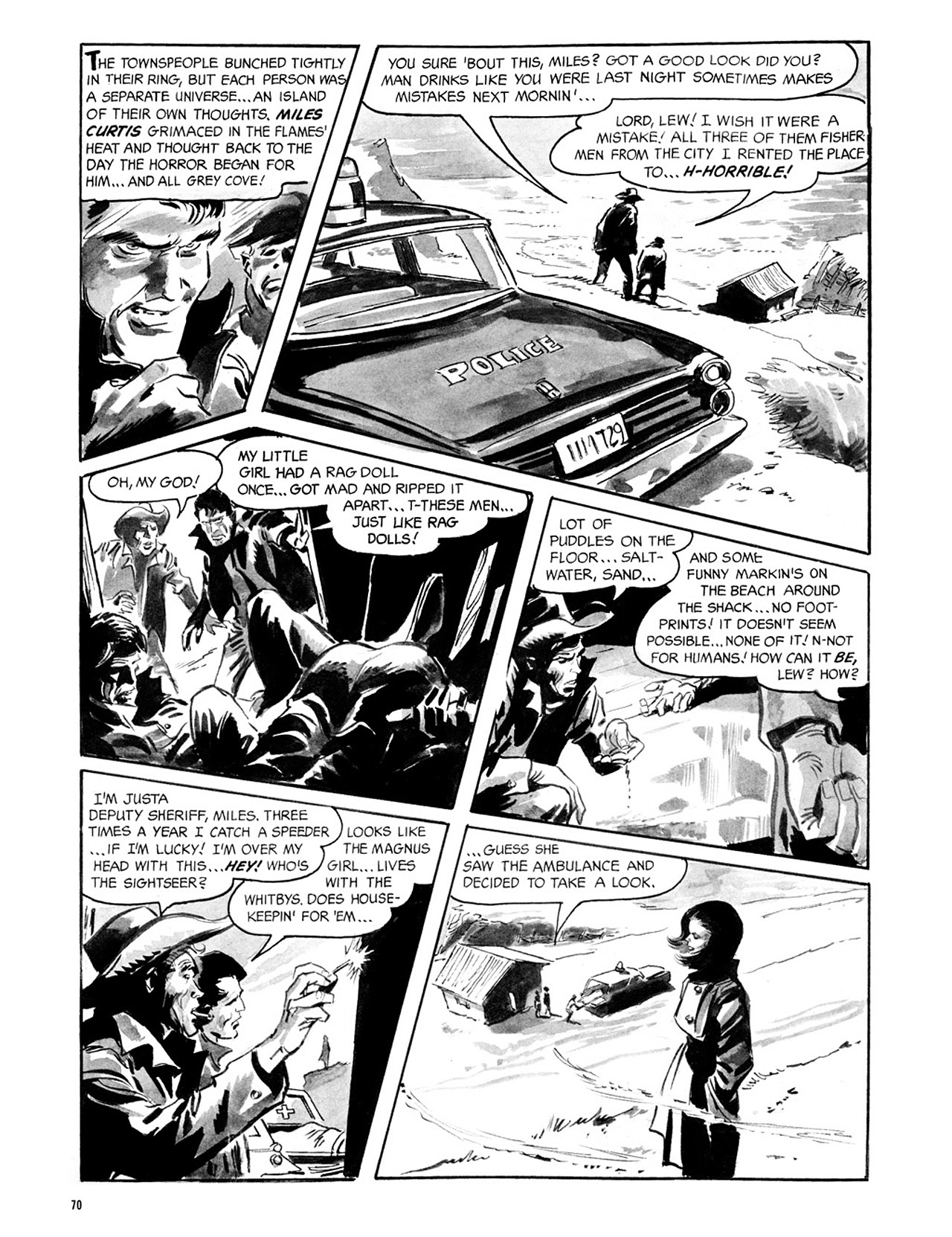 Read online Eerie Archives comic -  Issue # TPB 2 - 71