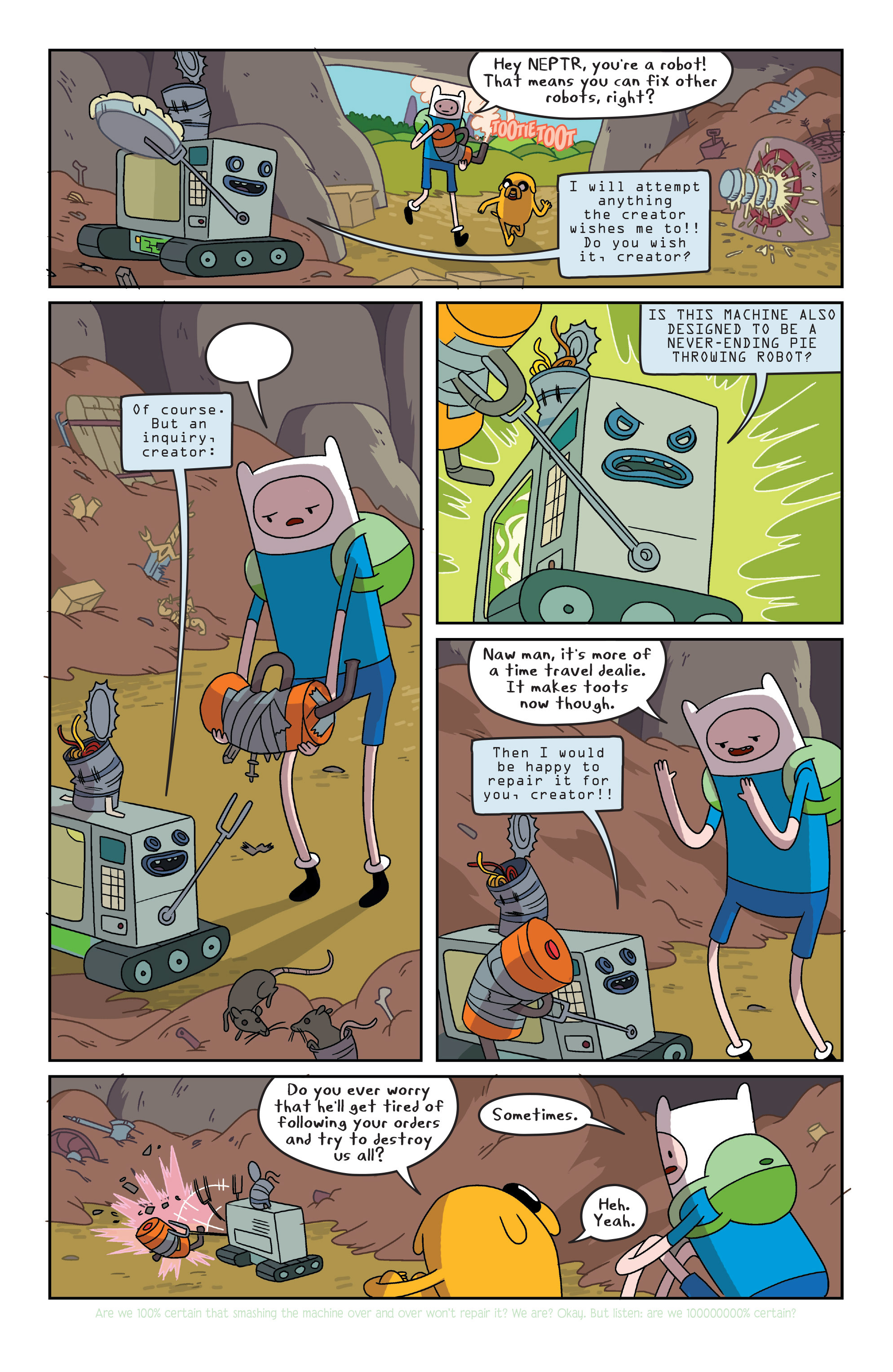 Read online Adventure Time comic -  Issue #7 - 10